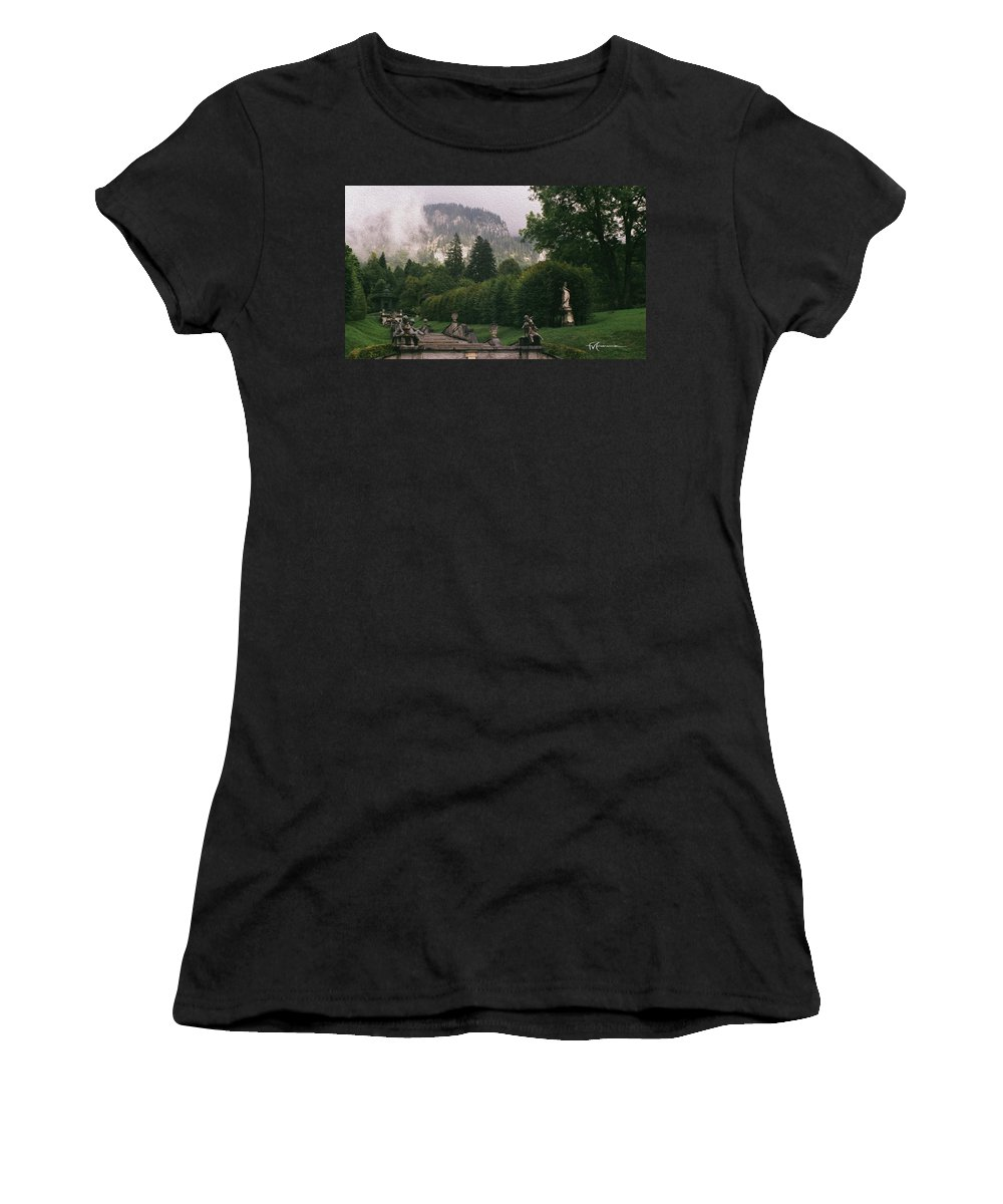 Outdoor Images Women's T-Shirt (Athletic Fit) featuring the photograph Bavaria Beauty by Felipe Gomez