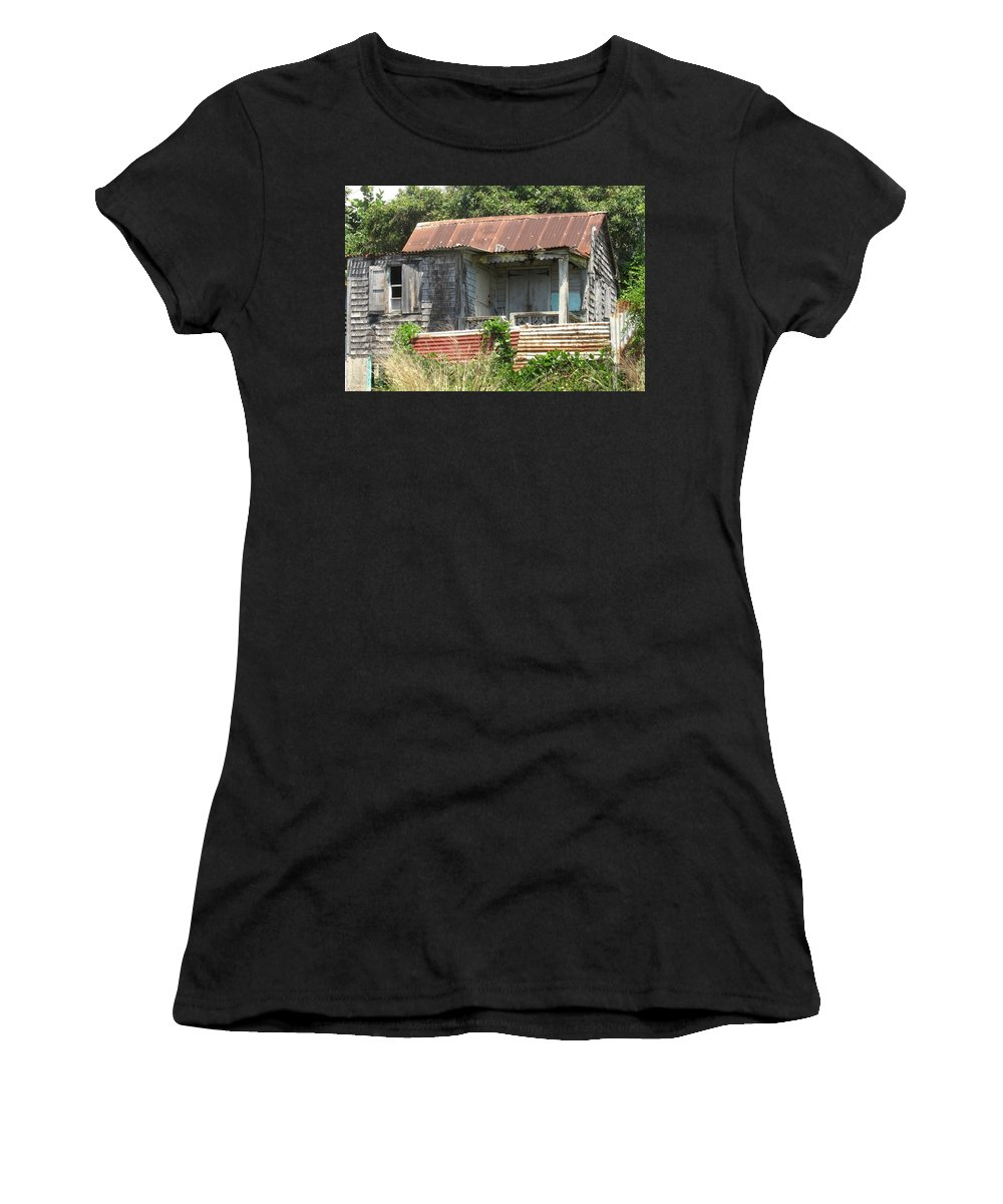 House Women's T-Shirt (Athletic Fit) featuring the photograph Be It Ever So Humble by Ian MacDonald