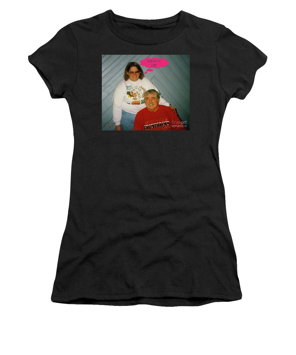 Star Trek Women's T-Shirt featuring the photograph Beam Me Up by Donna Brown