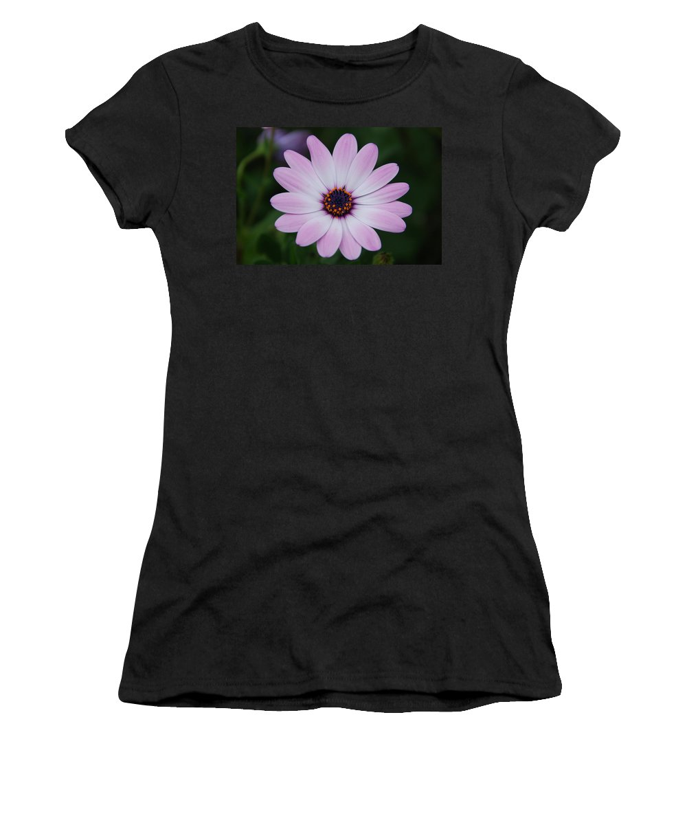Flower Women's T-Shirt (Athletic Fit) featuring the photograph Beautiful In Pink Today by Susanne Van Hulst