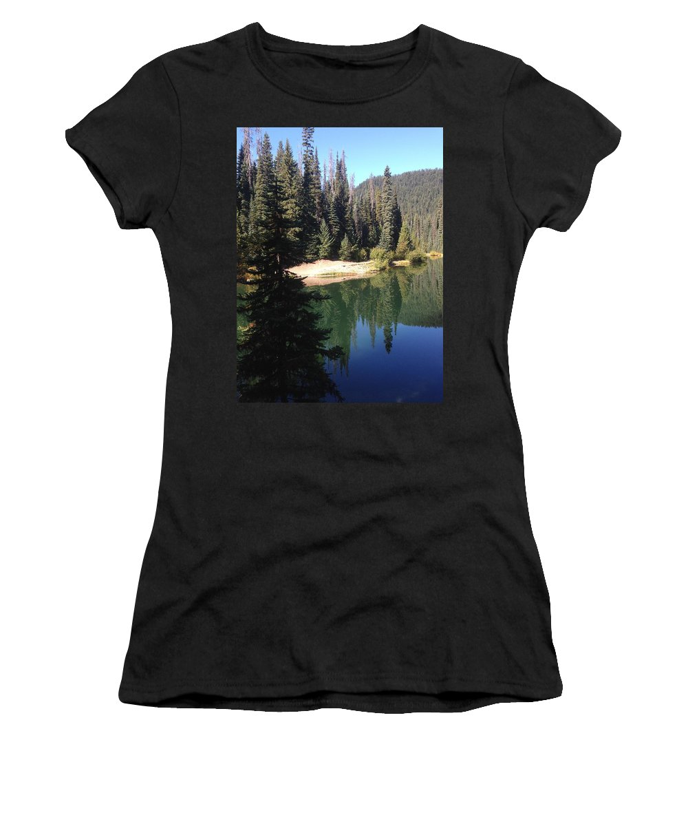 Photography Women's T-Shirt featuring the photograph Beautiful Places 2 by Britta Zehm