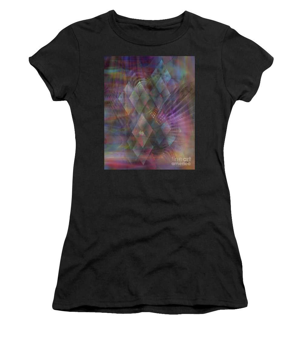 Bedazzled Women's T-Shirt (Athletic Fit) featuring the digital art Bedazzled by John Beck