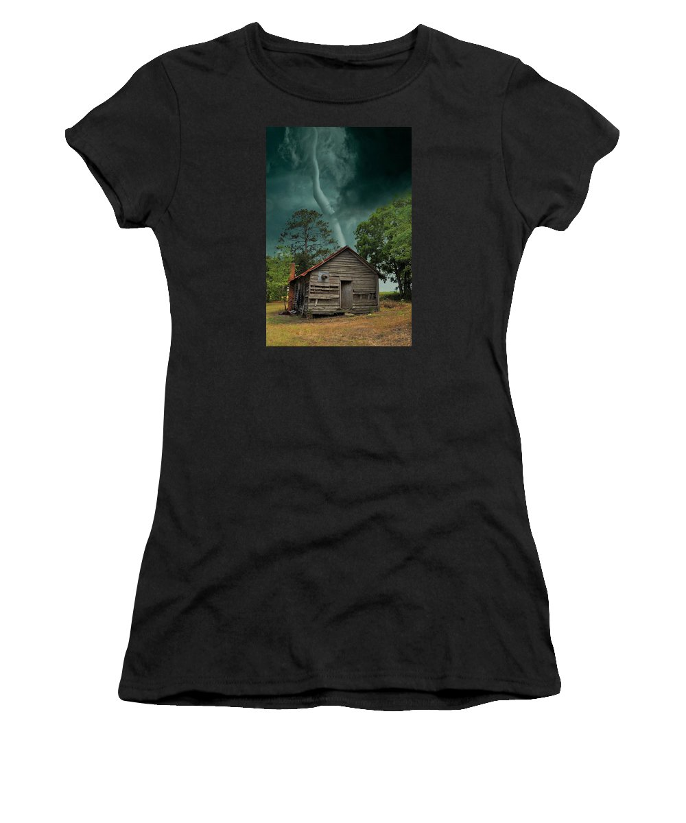 Landscapes Women's T-Shirt featuring the photograph Been There Before by Jan Amiss Photography