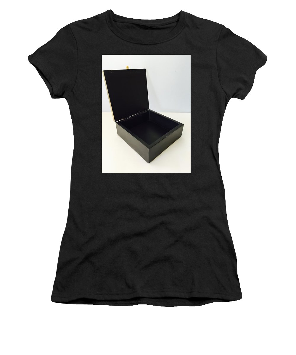 Home Decor Women's T-Shirt (Athletic Fit) featuring the sculpture Best Jewellery Boxes At 2$ Onwards by Craftedindia