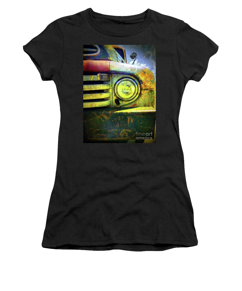 Truck Women's T-Shirt (Athletic Fit) featuring the photograph Better Days by Tara Turner