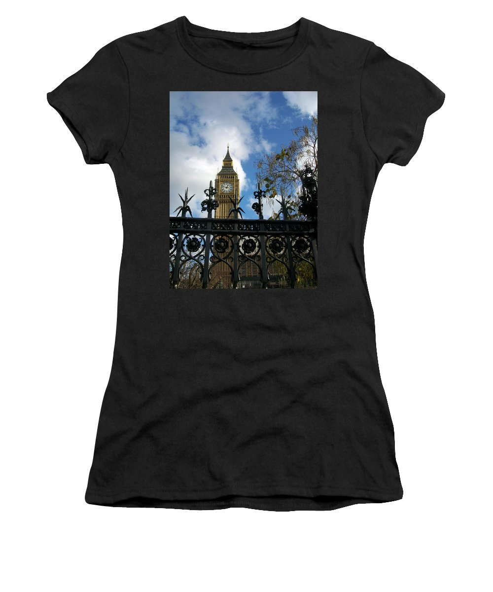London Women's T-Shirt (Athletic Fit) featuring the photograph Big Ben by Munir Alawi