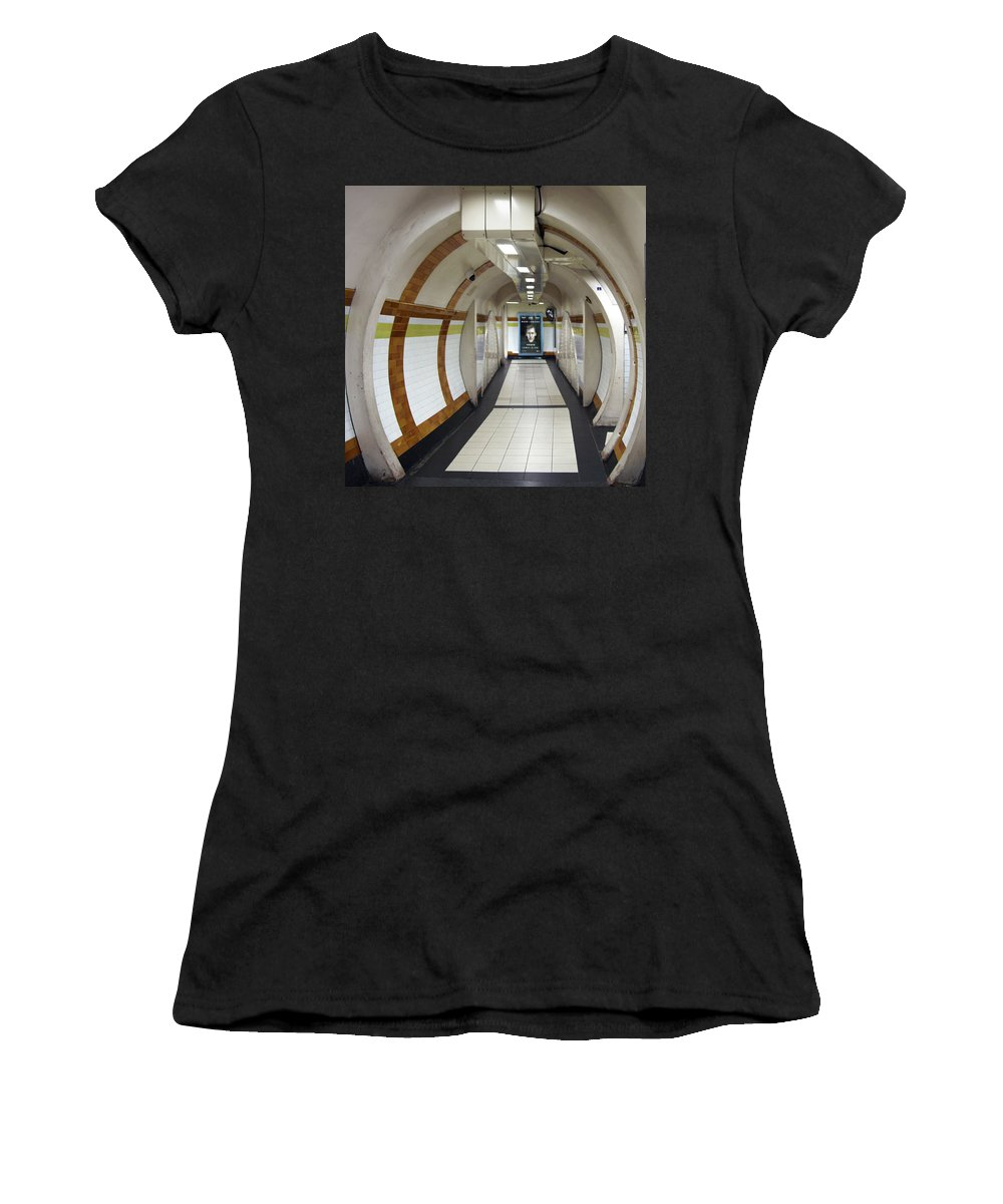 Tunnels Women's T-Shirt (Athletic Fit) featuring the photograph Big Brother by Guy Ciarcia