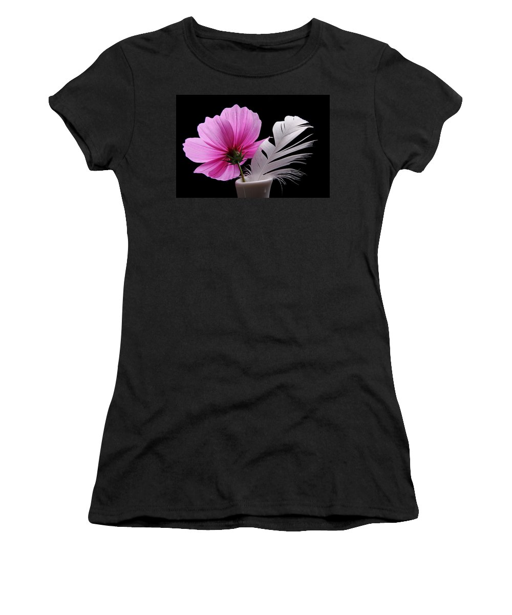 Bloom Women's T-Shirt featuring the photograph Bloom With Spring by Manfred Lutzius