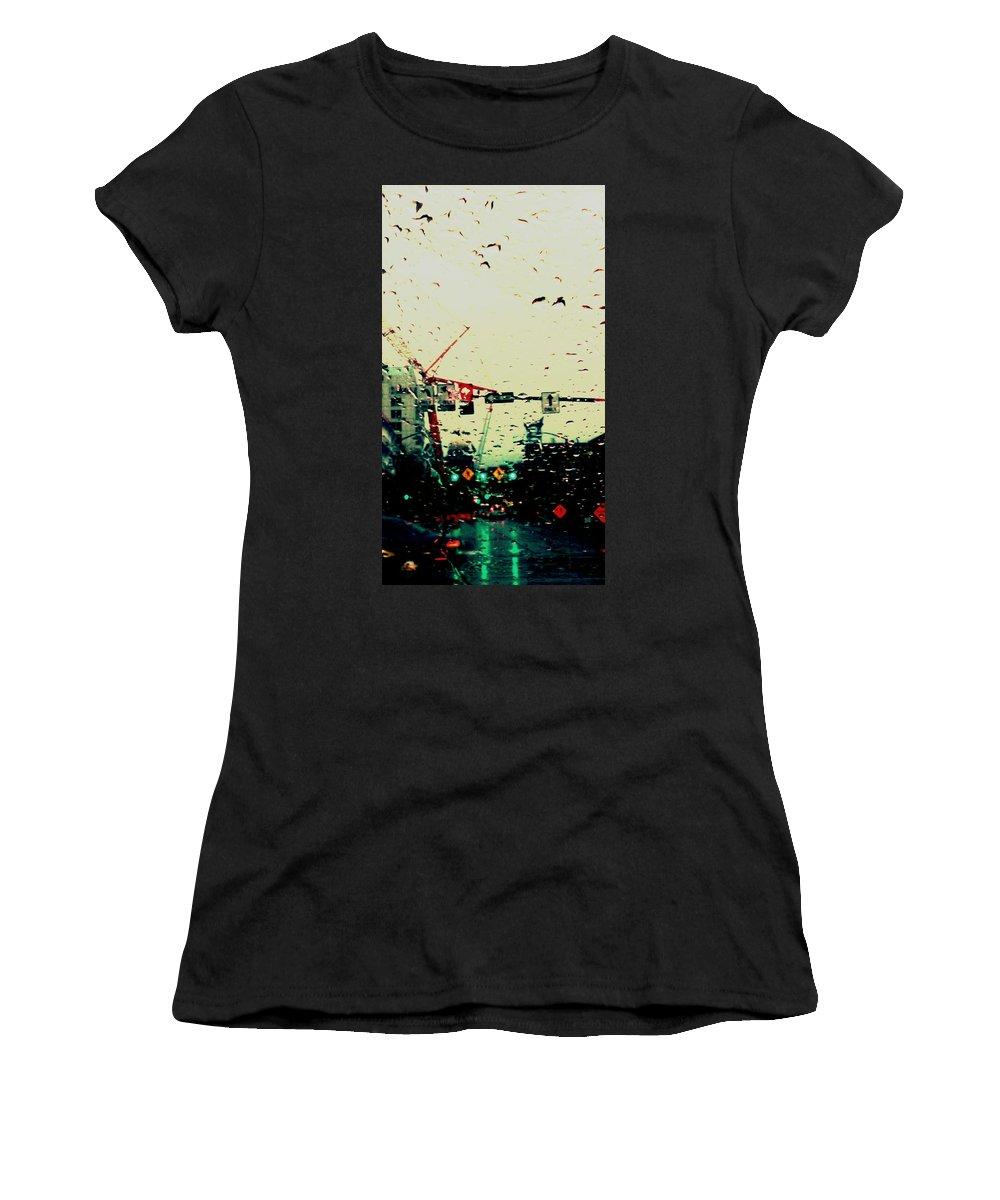Aunalea Vasquez Women's T-Shirt featuring the photograph Boise by Aunalea Vasquez