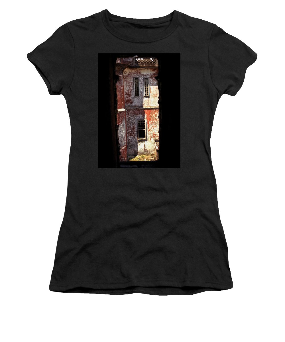 Bokor Women's T-Shirt (Athletic Fit) featuring the photograph Bokor by Patrick Klauss