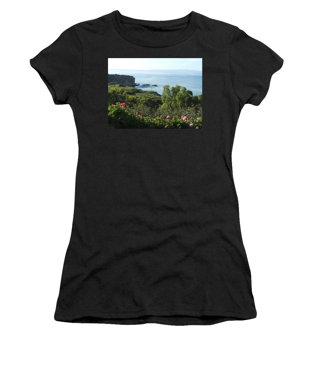 Landscape Women's T-Shirt (Athletic Fit) featuring the photograph Breath Of Fresh Air by Shari Chavira