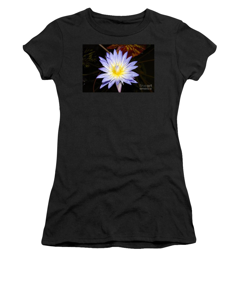 Lily Women's T-Shirt (Athletic Fit) featuring the photograph Brilliant Beauty by David Lee Thompson