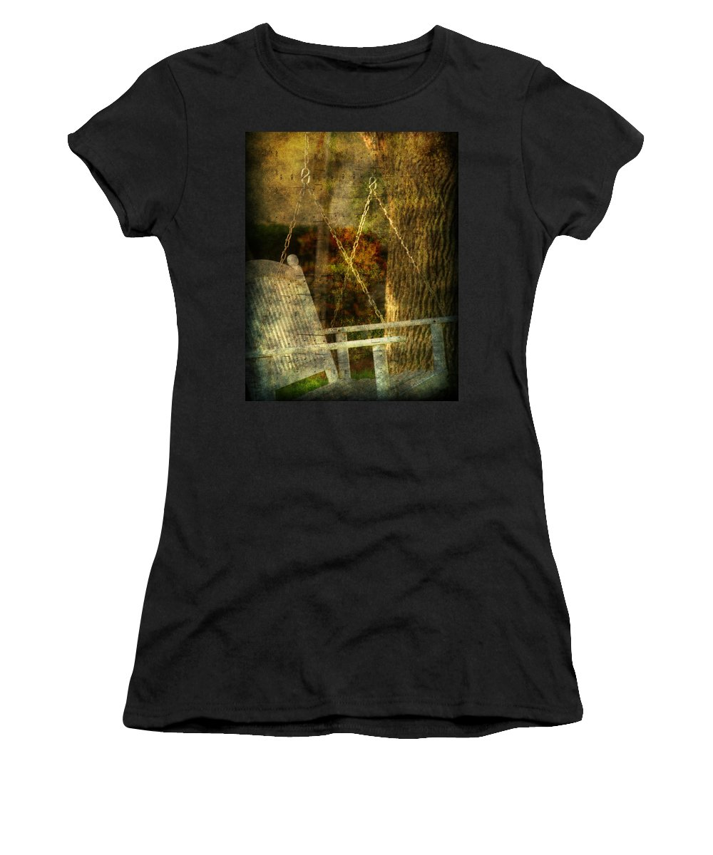 Swing Women's T-Shirt (Athletic Fit) featuring the photograph Bring Back All The Memories by Susanne Van Hulst
