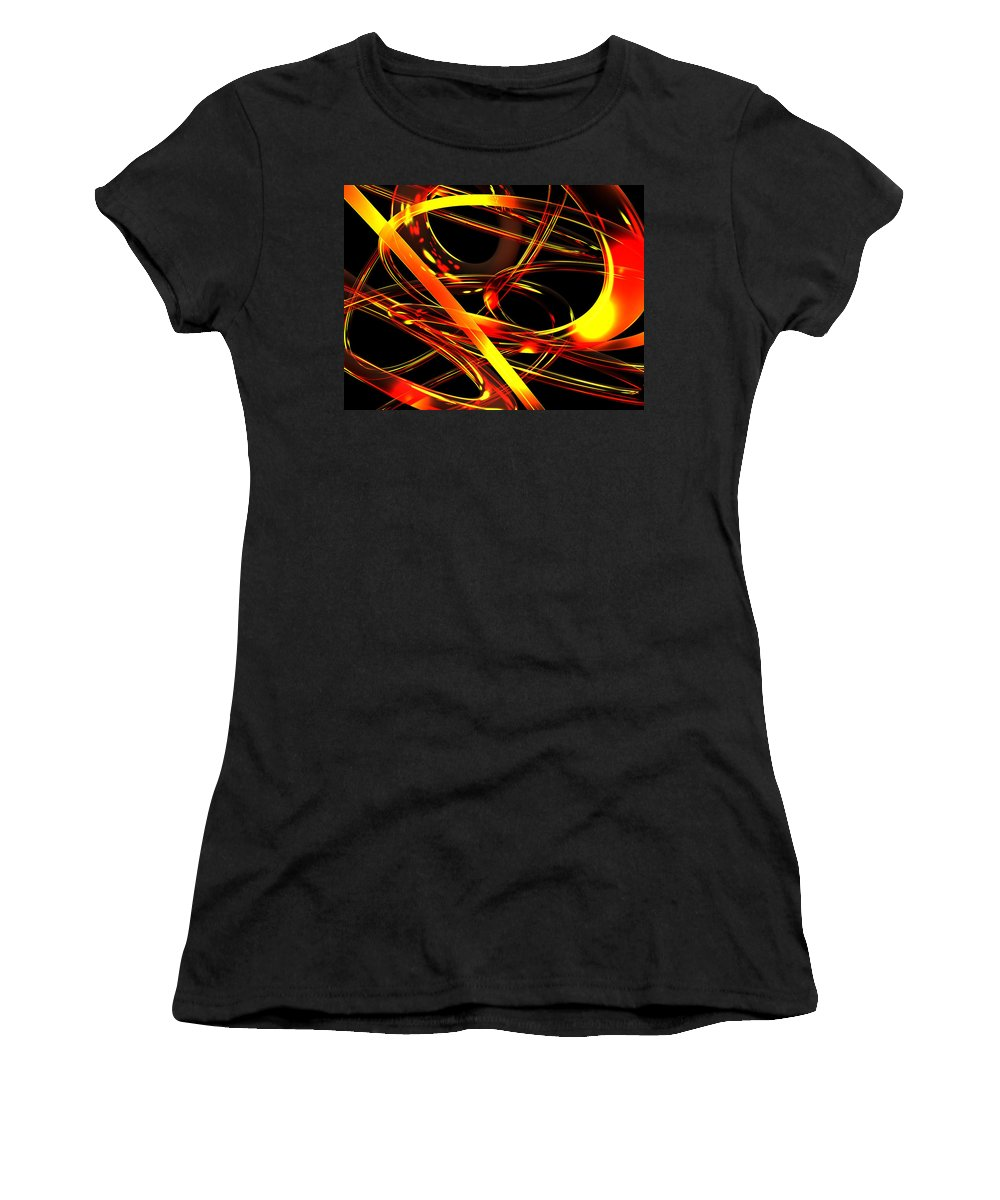 Scott Piers Women's T-Shirt (Athletic Fit) featuring the digital art BWS by Scott Piers