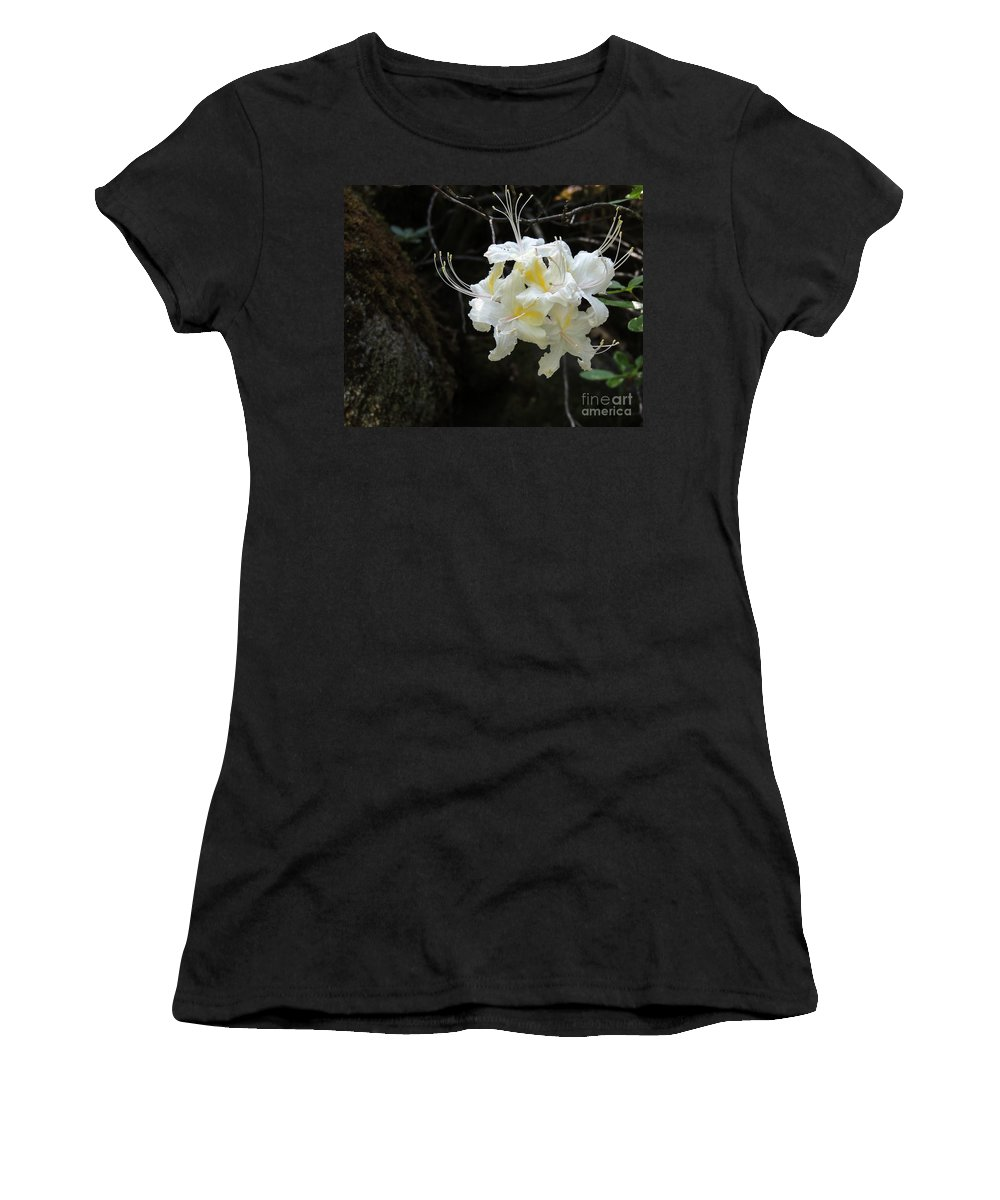 Bloom Women's T-Shirt (Athletic Fit) featuring the photograph Cammo Front by Grant Bolei