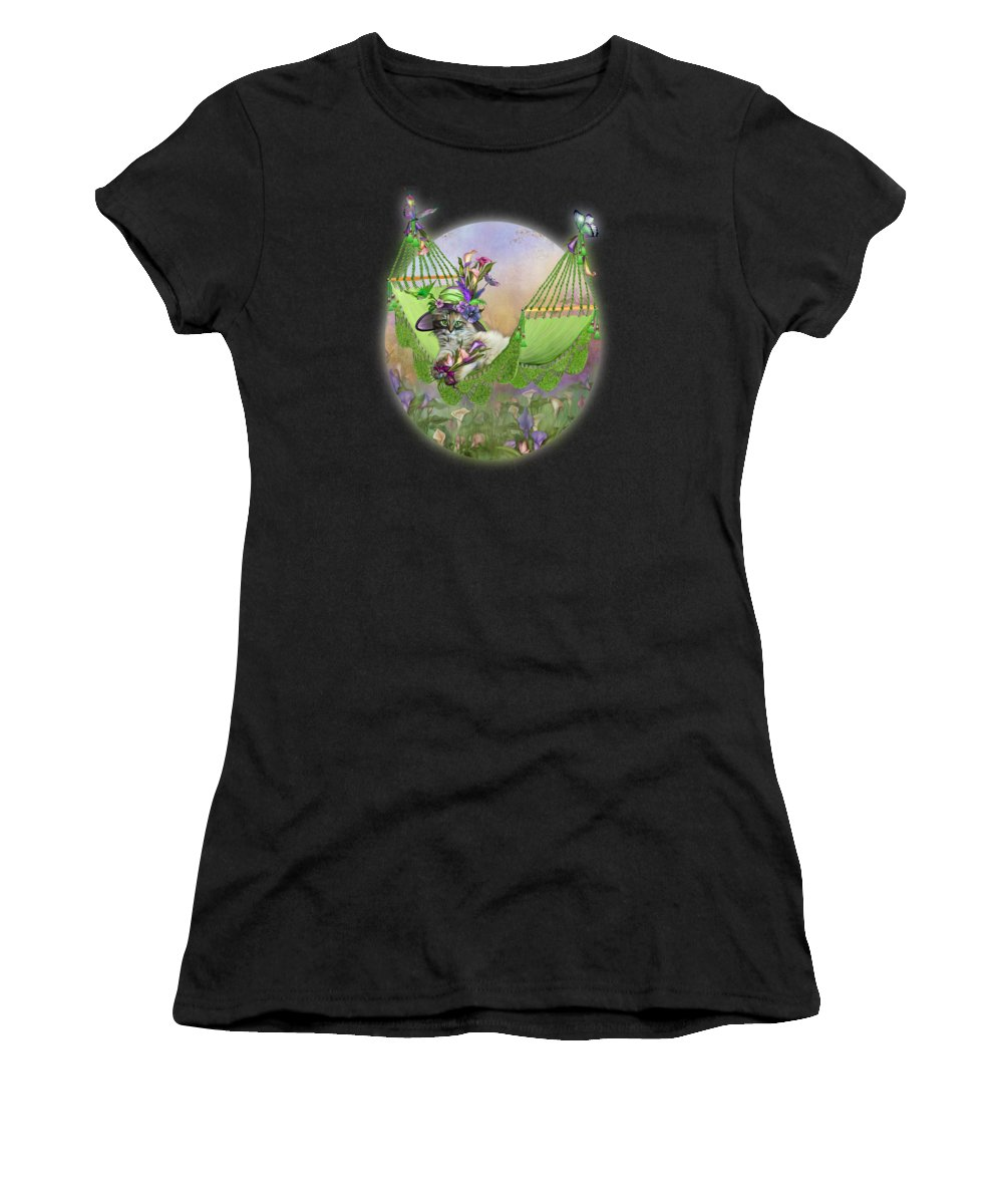 Lily Mixed Media Women's T-Shirts