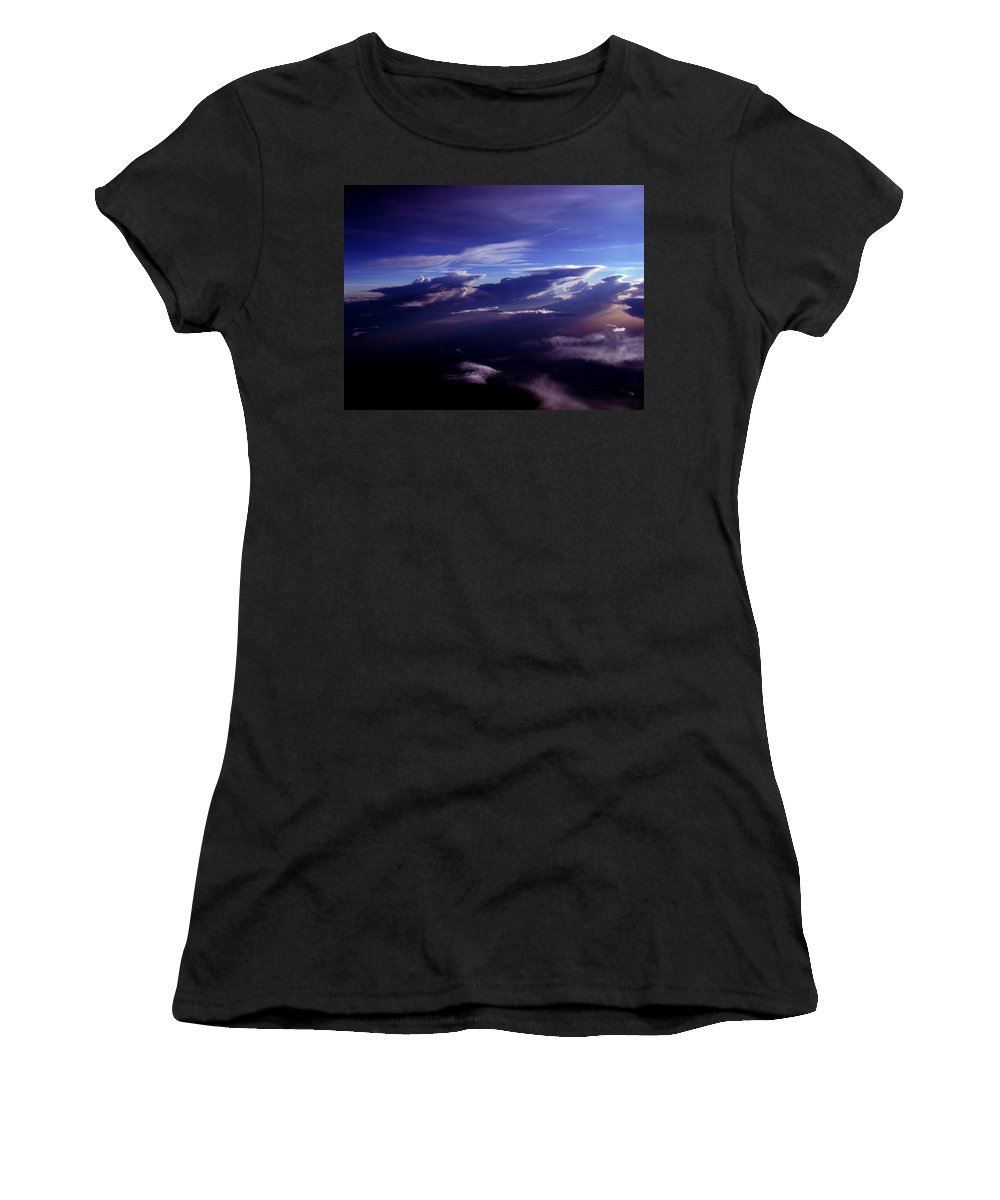 Aviation Art Women's T-Shirt (Athletic Fit) featuring the photograph Cb2.229 by Strato ThreeSIXTYFive