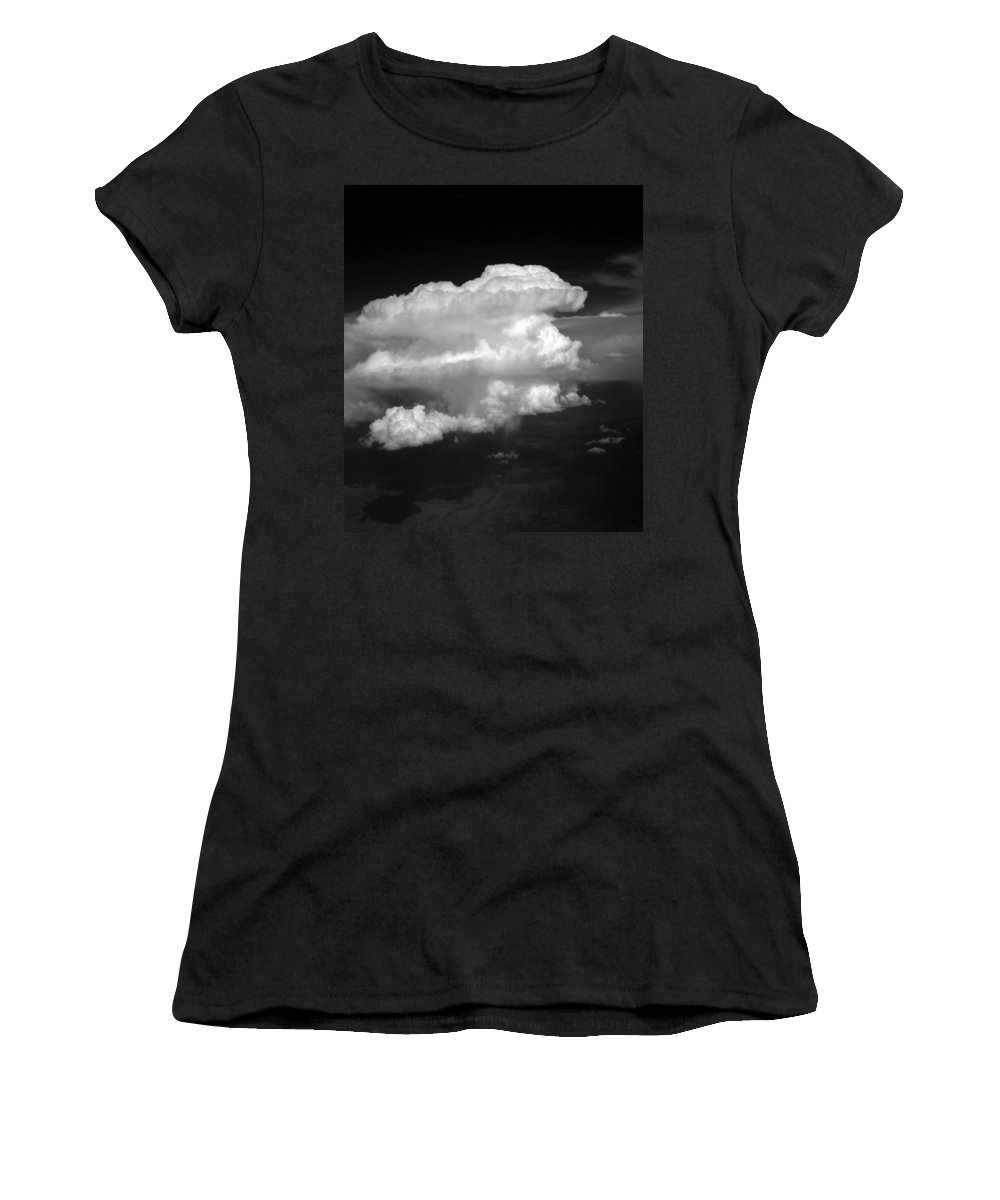Cloud Photos Women's T-Shirt (Athletic Fit) featuring the photograph Cb3.598 by Strato ThreeSIXTYFive