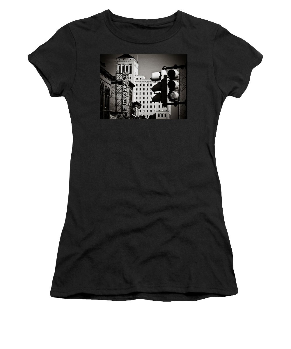 Pittsburgh Women's T-Shirt (Athletic Fit) featuring the photograph Central Northside by Jessica Brawley