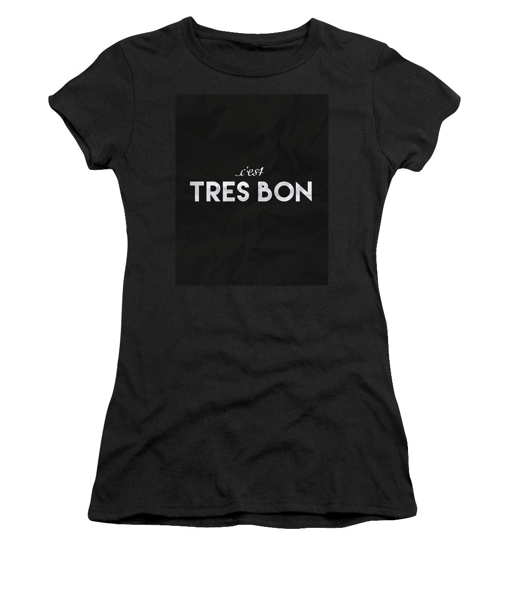 French Women's T-Shirt featuring the photograph C'est Tres Bon by Samuel Whitton