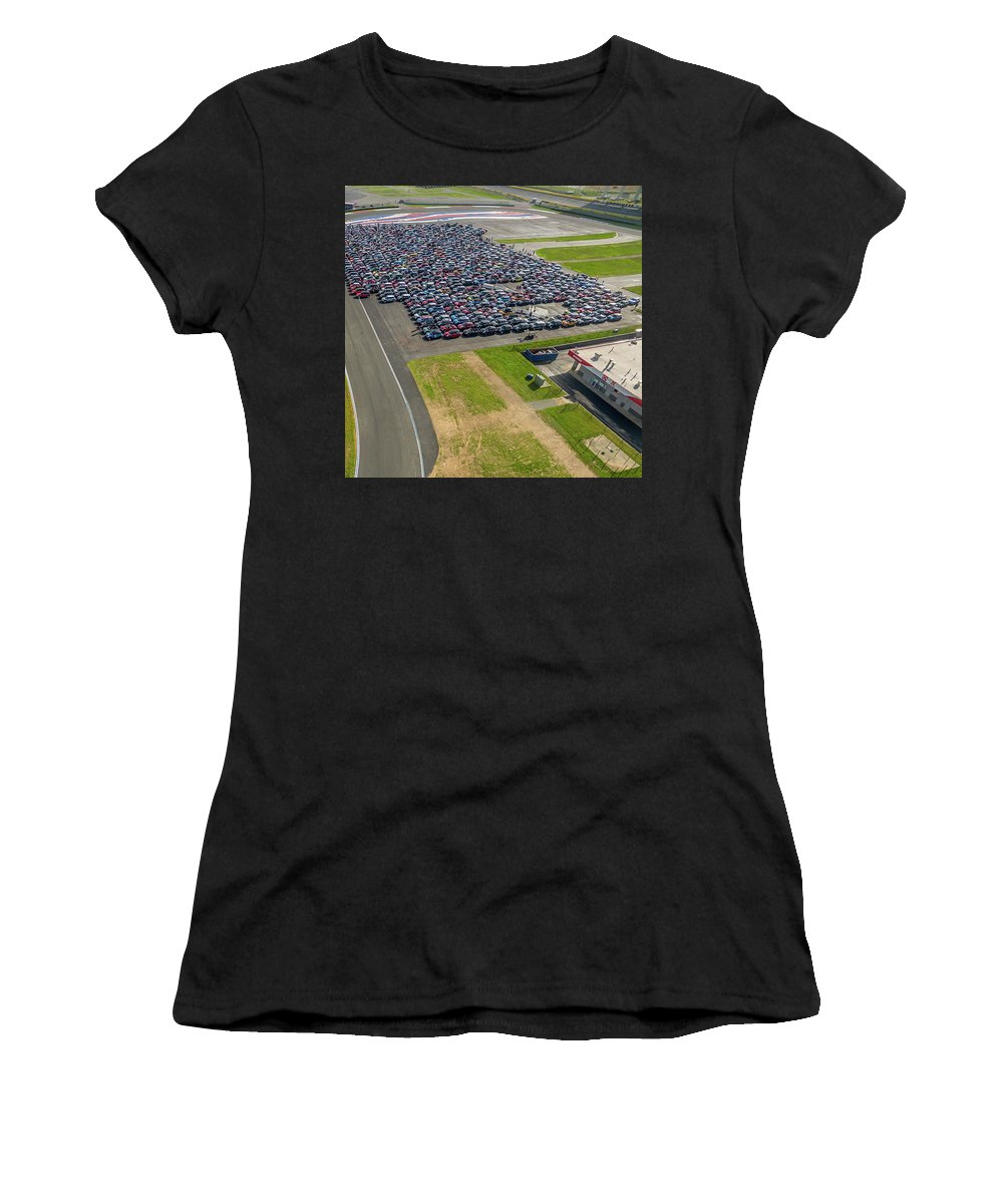 Mtts Women's T-Shirt (Athletic Fit) featuring the photograph Charlotte - Rise/shine by That MINI Show