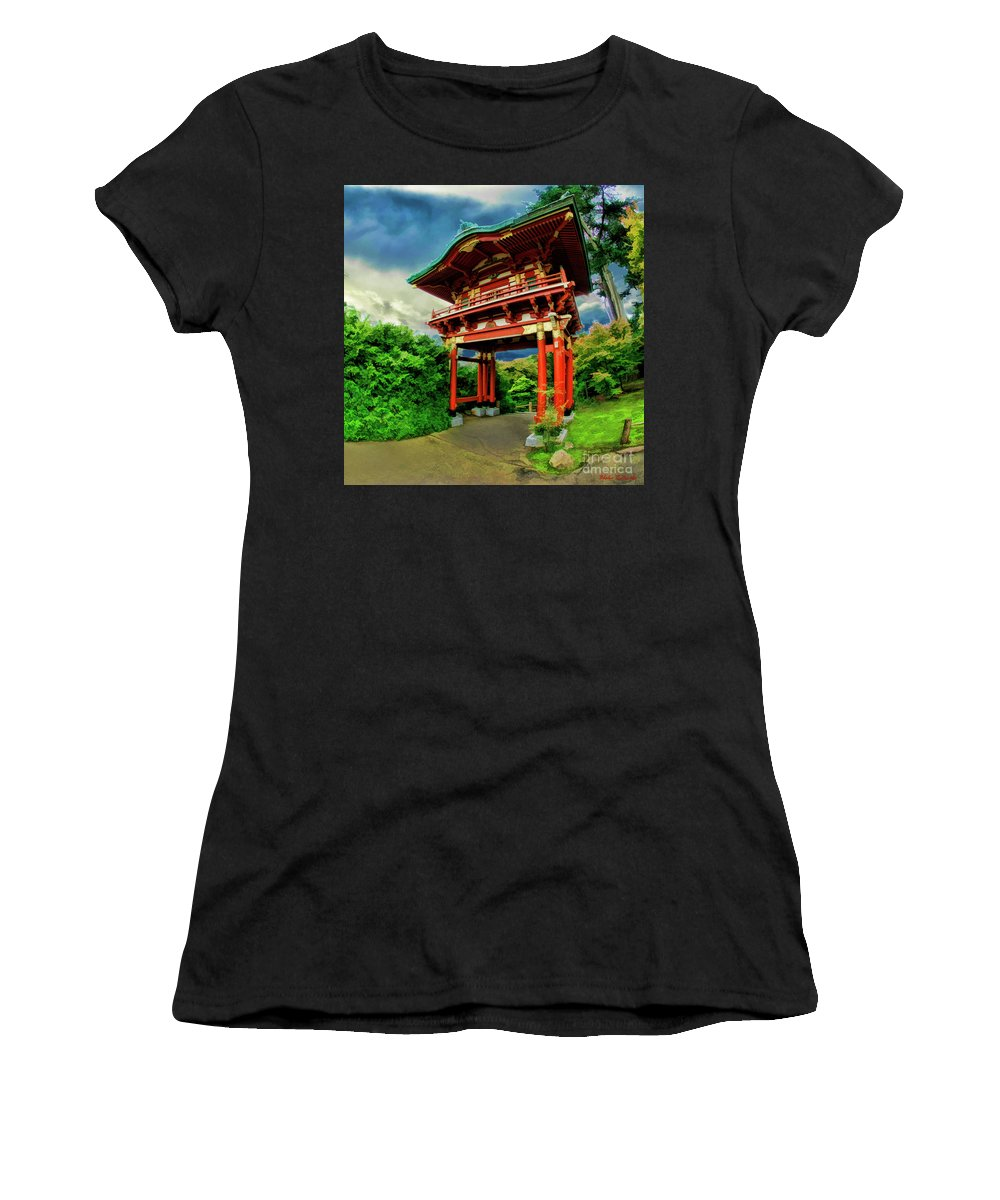 Art Photography Women's T-Shirt featuring the photograph Chinese House by Blake Richards