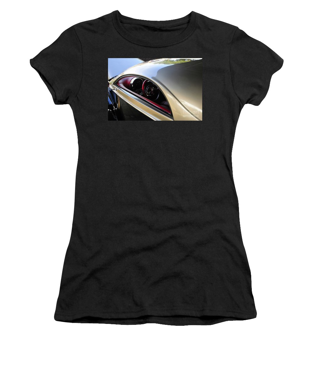 Hot Rod Women's T-Shirt (Athletic Fit) featuring the photograph Classic Lines by David Lee Thompson