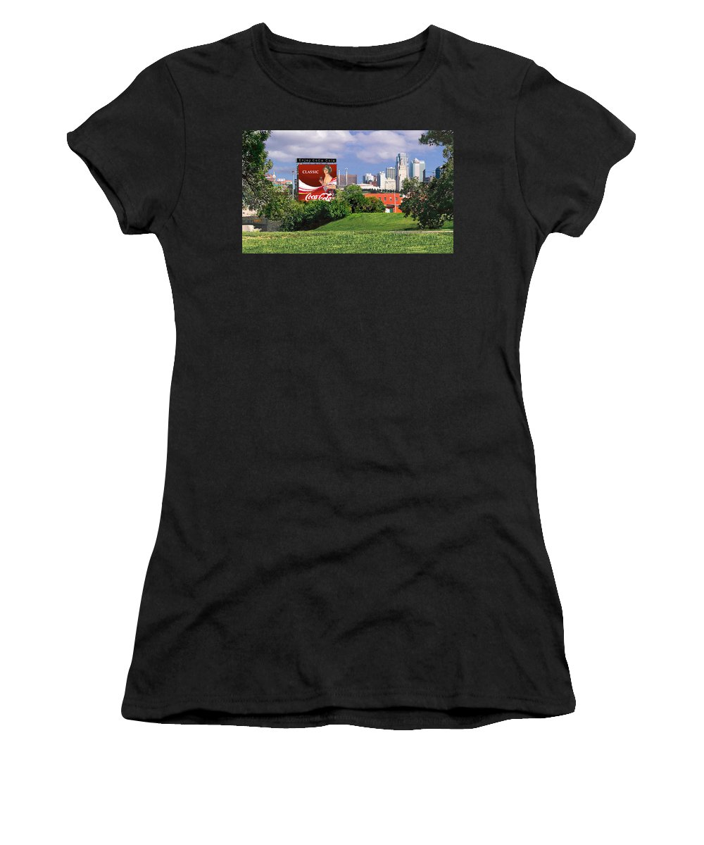 Landscape Women's T-Shirt (Athletic Fit) featuring the photograph Classic Summer by Steve Karol