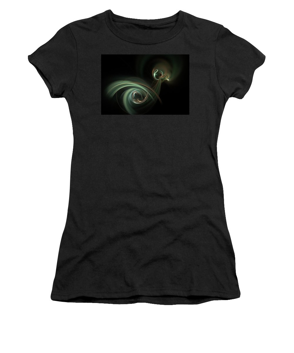 Fantasy Women's T-Shirt (Athletic Fit) featuring the digital art Coitus by David Lane
