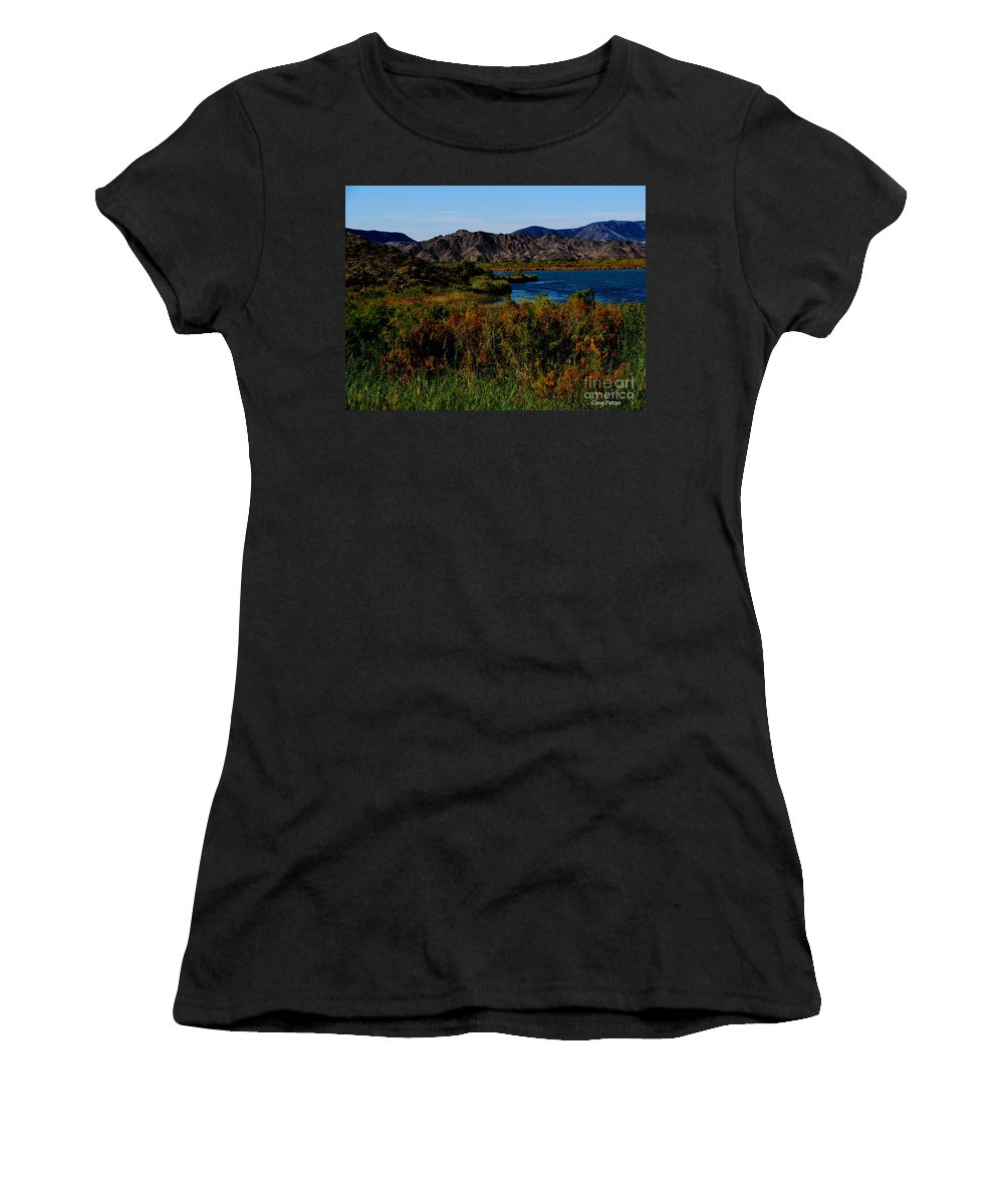 Patzer Women's T-Shirt (Athletic Fit) featuring the photograph Colorado River by Greg Patzer
