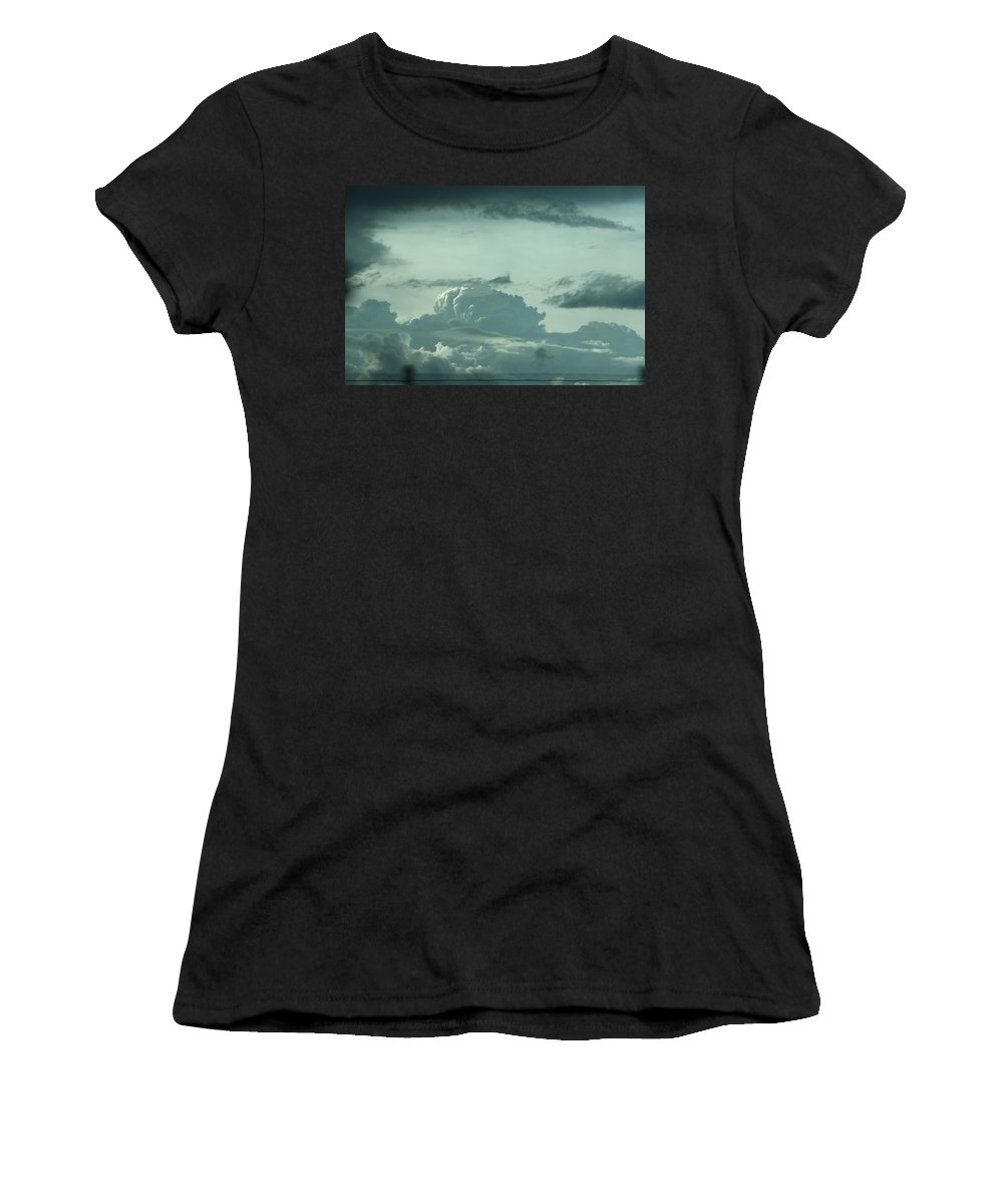 Women's T-Shirt (Athletic Fit) featuring the photograph Colorado Storm by Kevin Cote