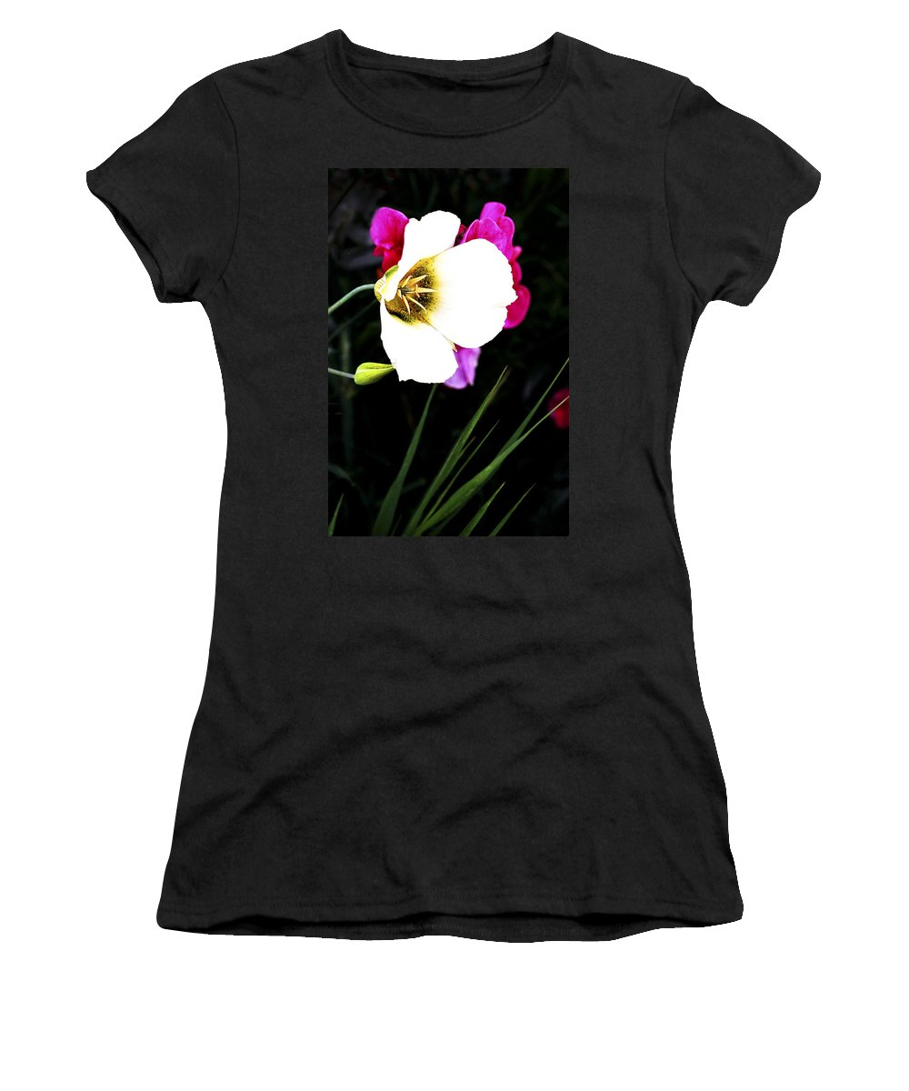 Wildflower Women's T-Shirt (Athletic Fit) featuring the photograph Colorado Wildflower1 by Marilyn Hunt
