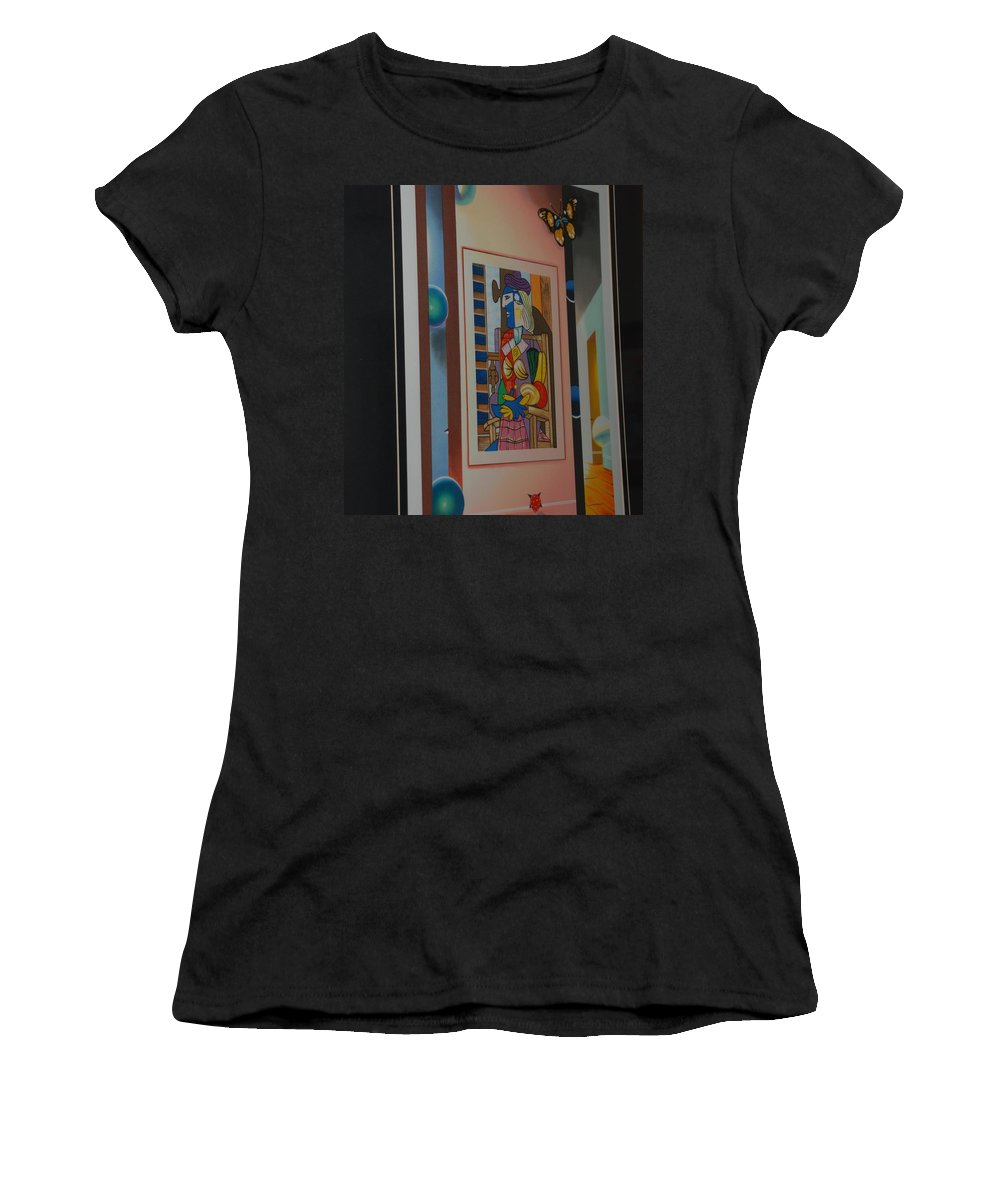 Colors Women's T-Shirt (Athletic Fit) featuring the photograph Colors by Rob Hans