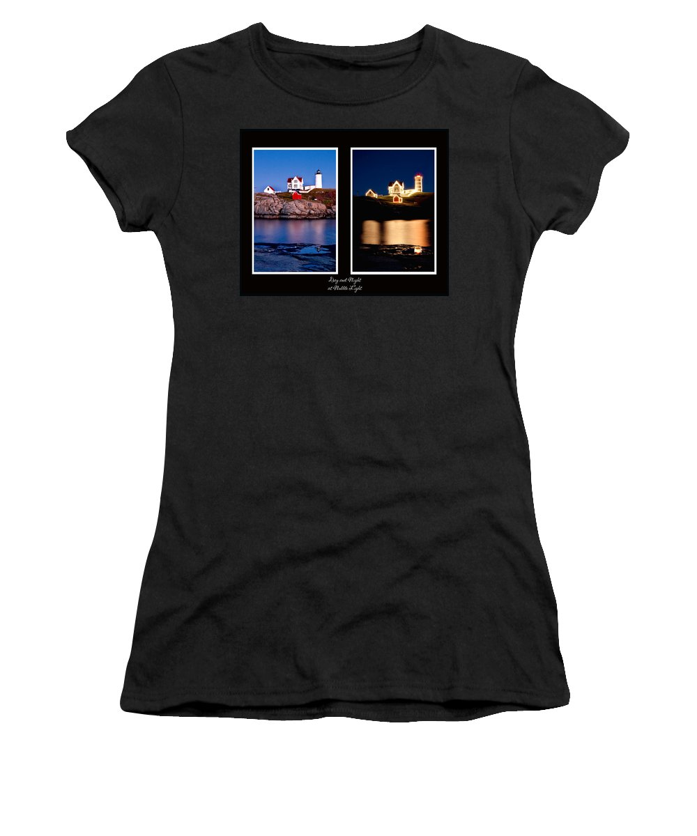 Nubble Women's T-Shirt (Athletic Fit) featuring the photograph Combined Nubble by Greg Fortier