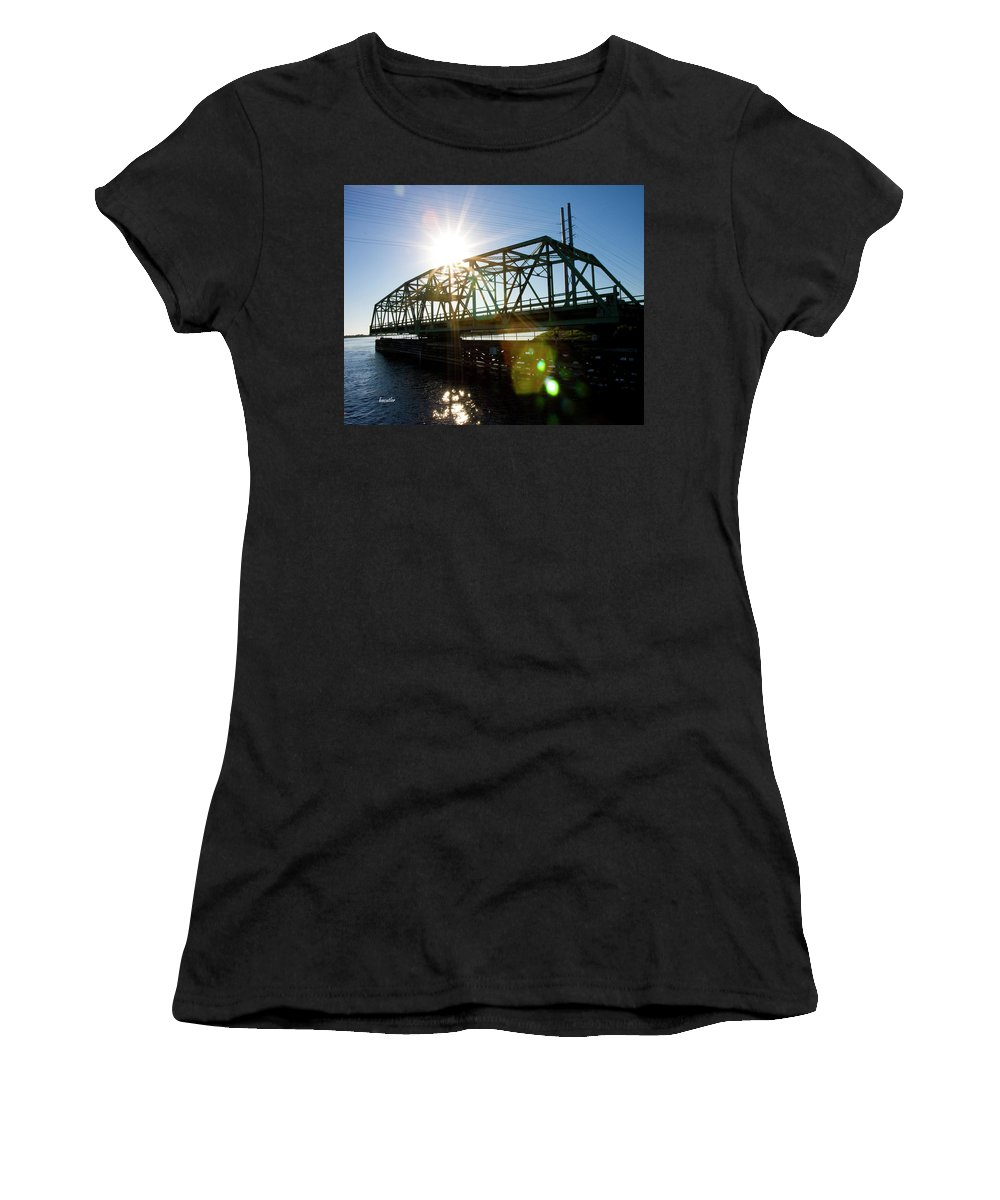 Beach Women's T-Shirt (Athletic Fit) featuring the photograph Come On Through by Betsy Knapp