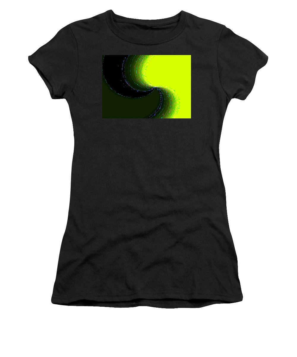 Organic Women's T-Shirt (Athletic Fit) featuring the digital art Conceptual 5 by Will Borden