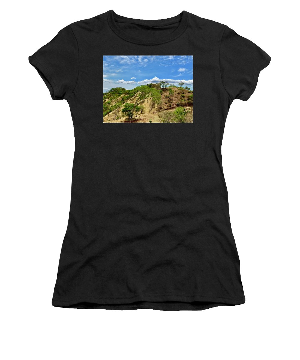 Costa Rica Women's T-Shirt (Athletic Fit) featuring the photograph Costa Rica by Dani Keating