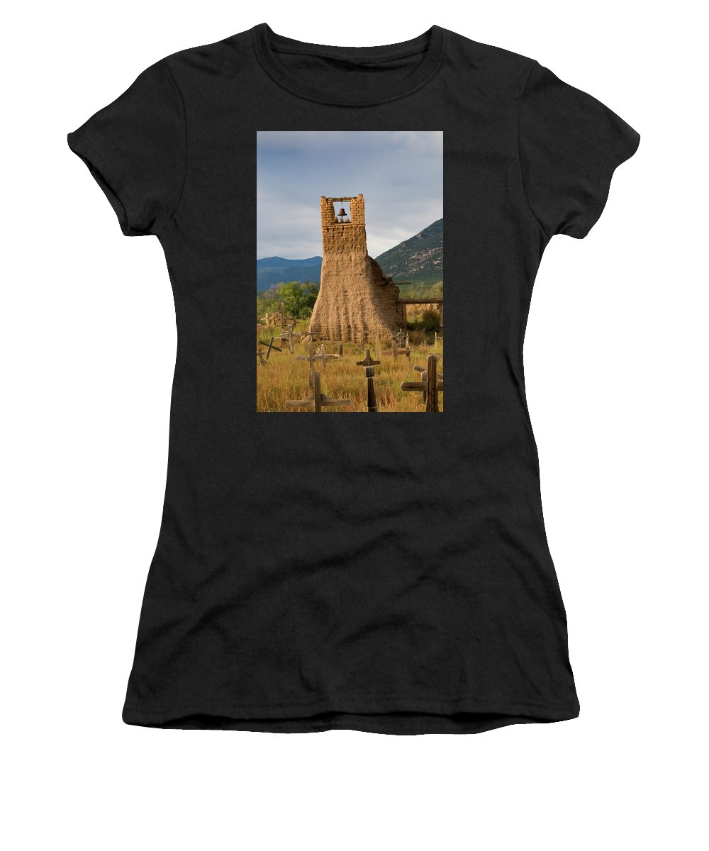 Southwest Women's T-Shirt (Athletic Fit) featuring the photograph Cross Roads by Jim Benest