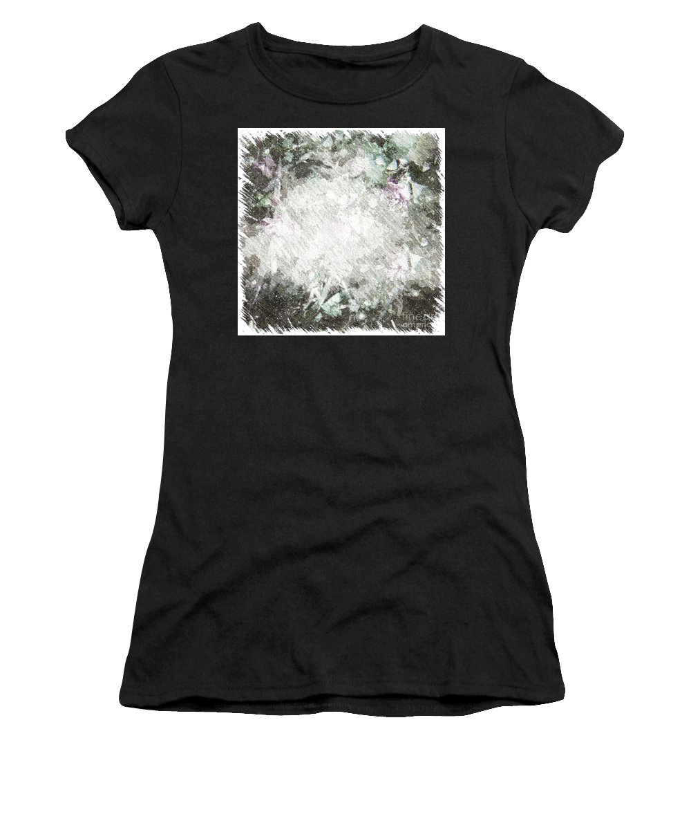 Abstract Women's T-Shirt featuring the photograph Crossroads by Alwyn Glasgow