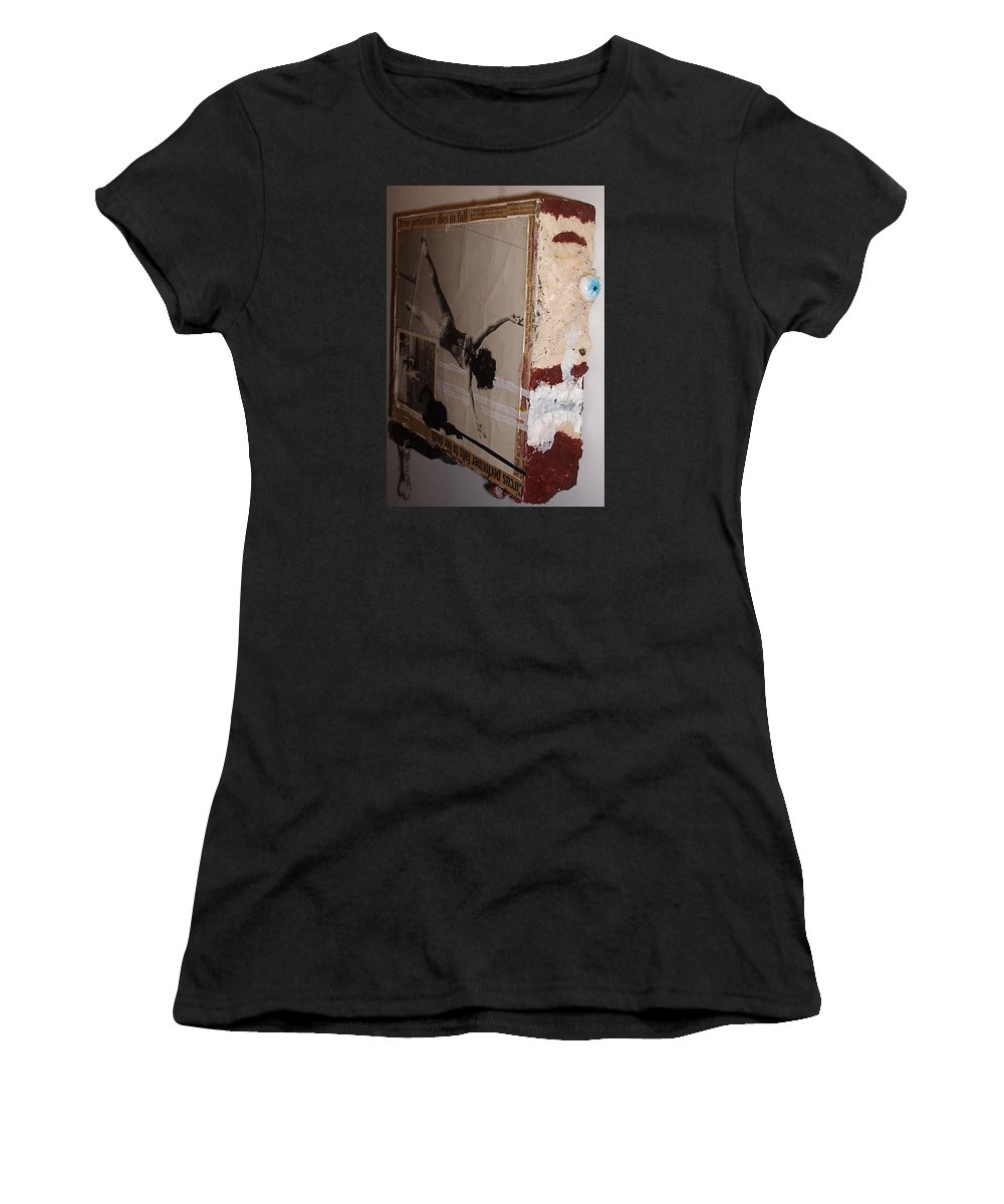 A Cyclops Greek Mythology And Later Roman Mythology Women's T-Shirt featuring the painting Cyclops by William Douglas