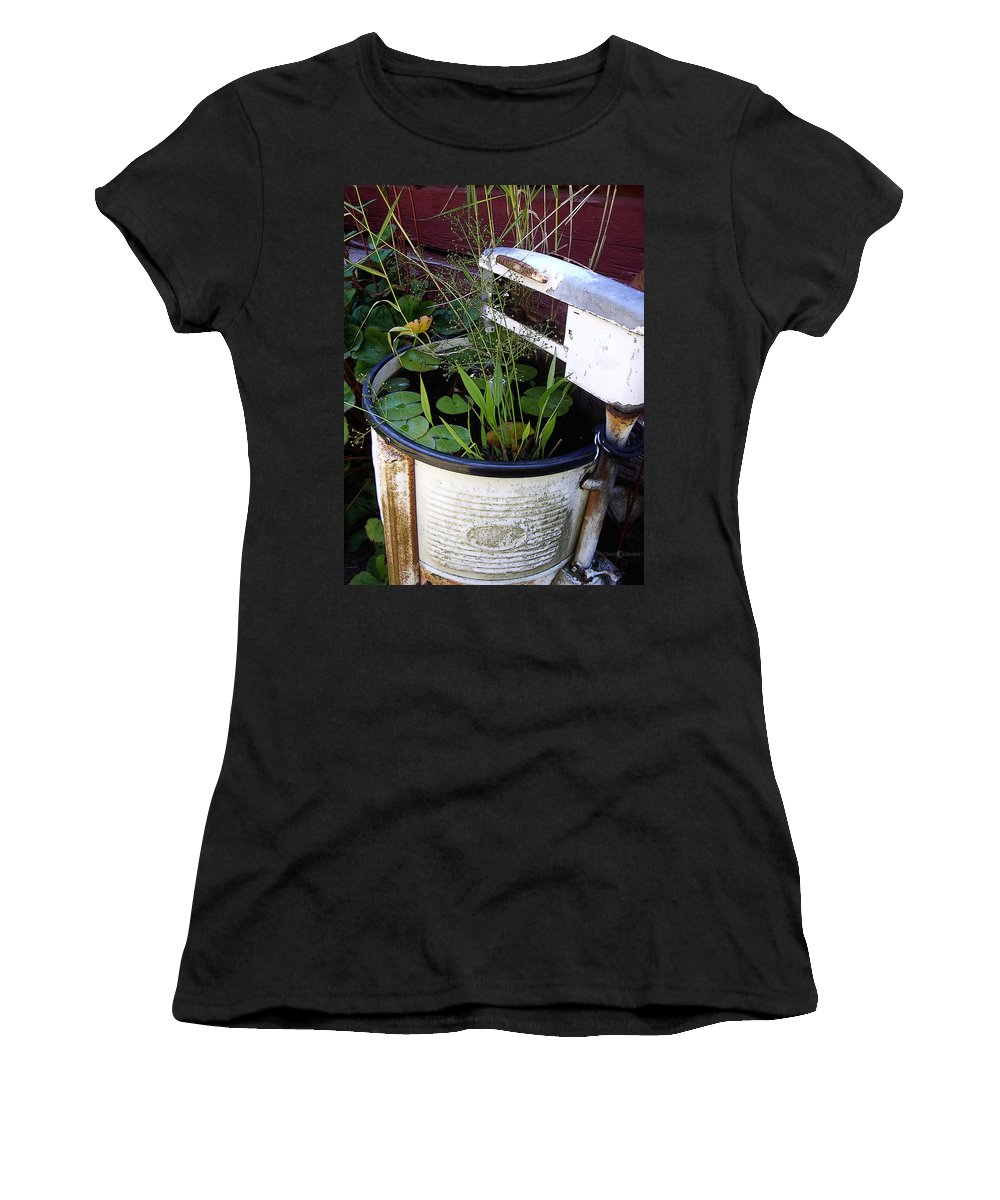 Wringer Women's T-Shirt (Athletic Fit) featuring the photograph Dead Wringer by Tim Nyberg