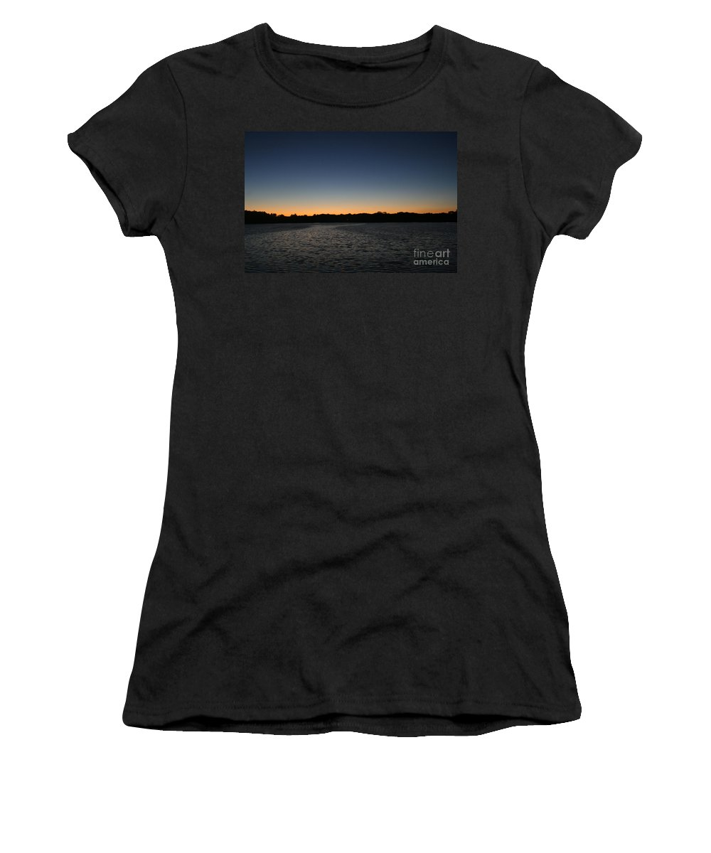 Wisconsin Women's T-Shirt (Athletic Fit) featuring the photograph Descending by Jamie Lynn