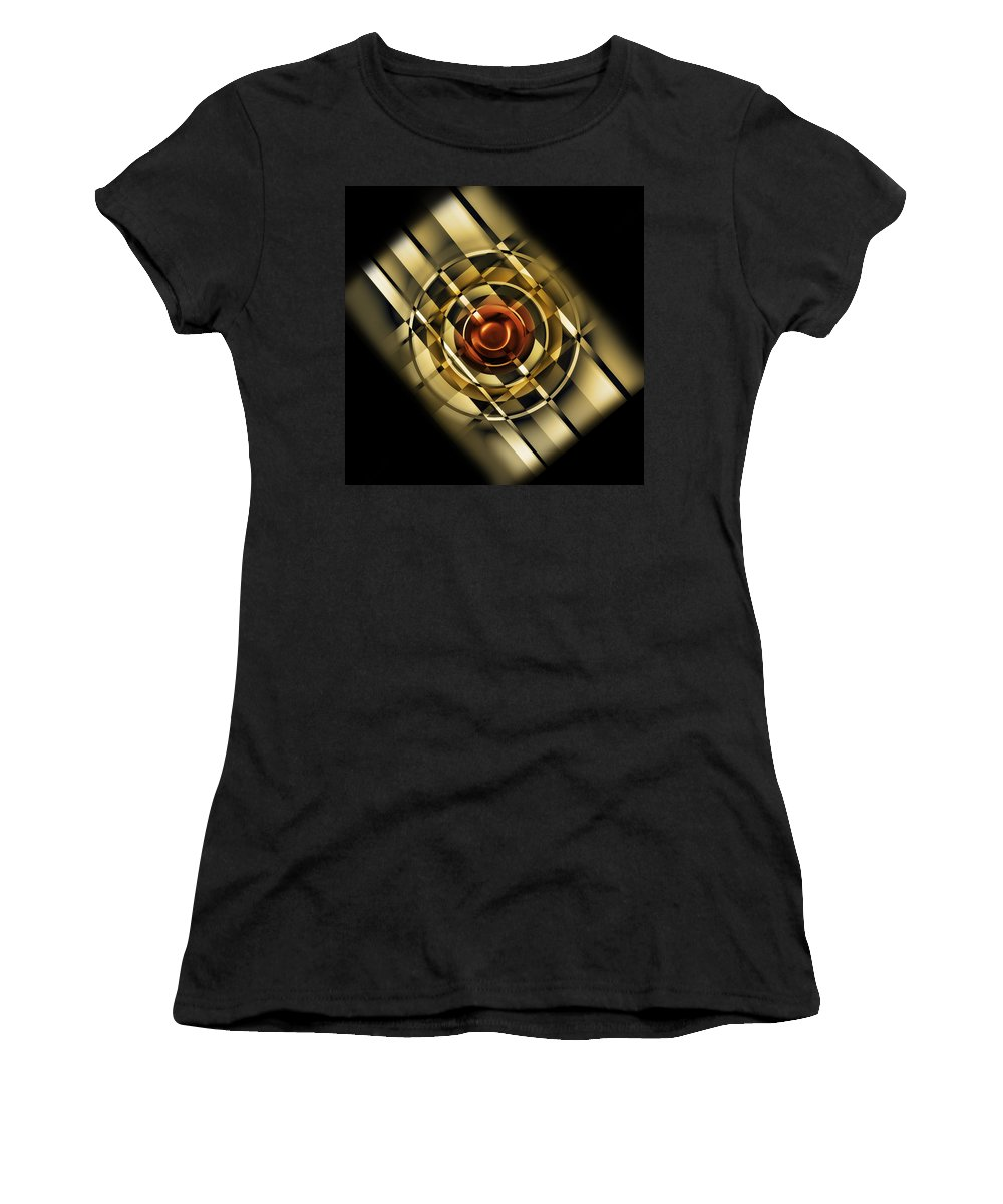 Digital Women's T-Shirt featuring the digital art Design For One by Andy Young