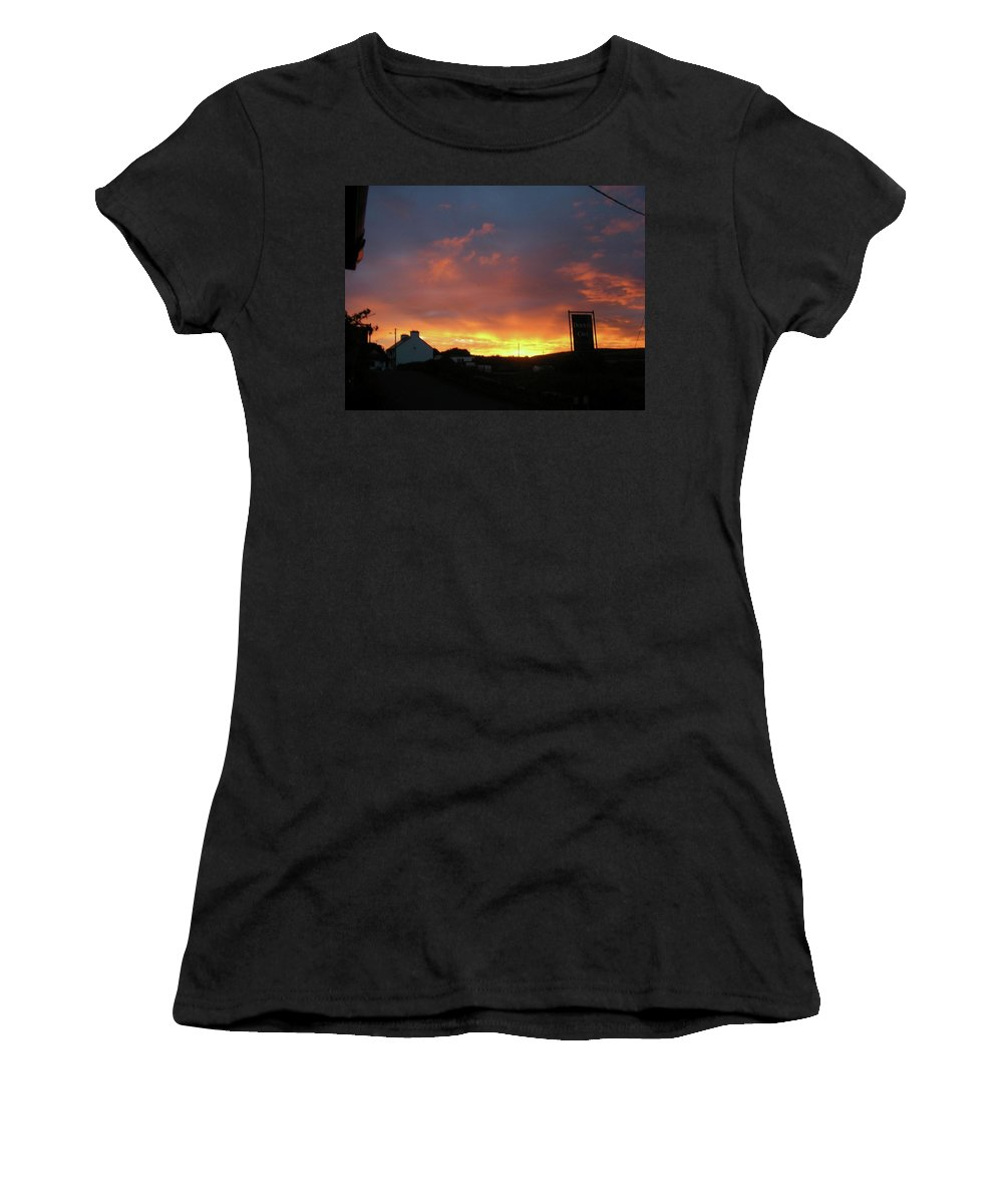 Landscape Women's T-Shirt featuring the photograph Doolin Co Clare Ireland by Louise Macarthur Art and Photography
