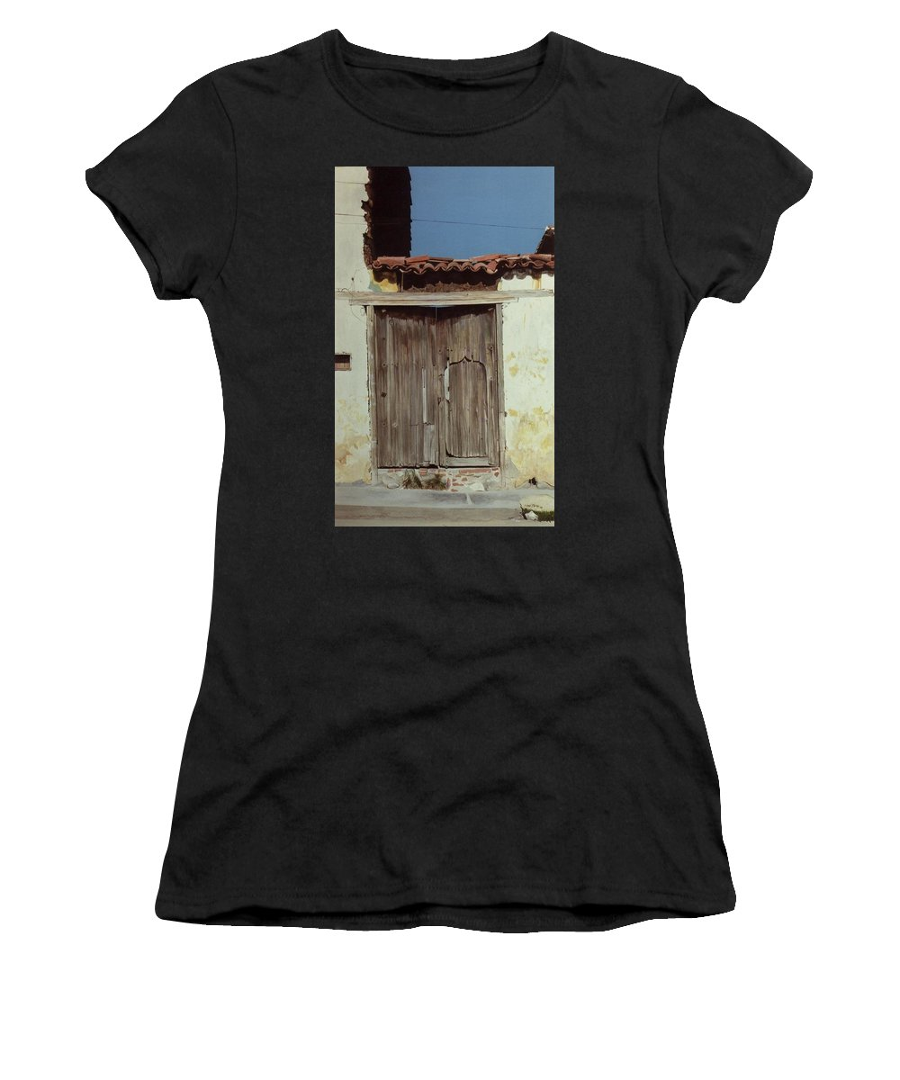 Hyperrealism Women's T-Shirt featuring the painting Dr Belizario Dominguez by Michael Earney