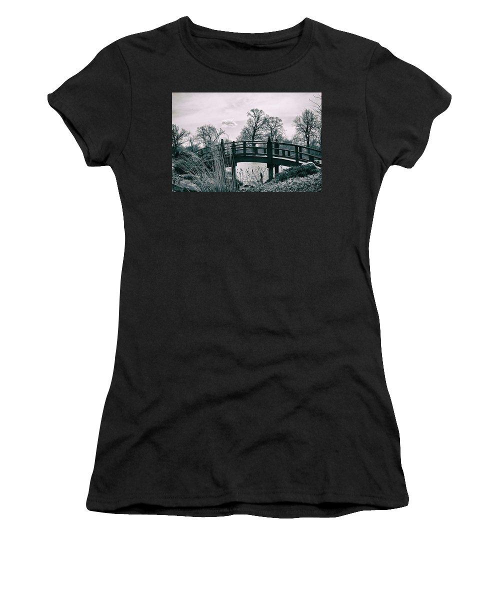 Bridge Women's T-Shirt featuring the photograph Dream Bridge by Melissa Leda