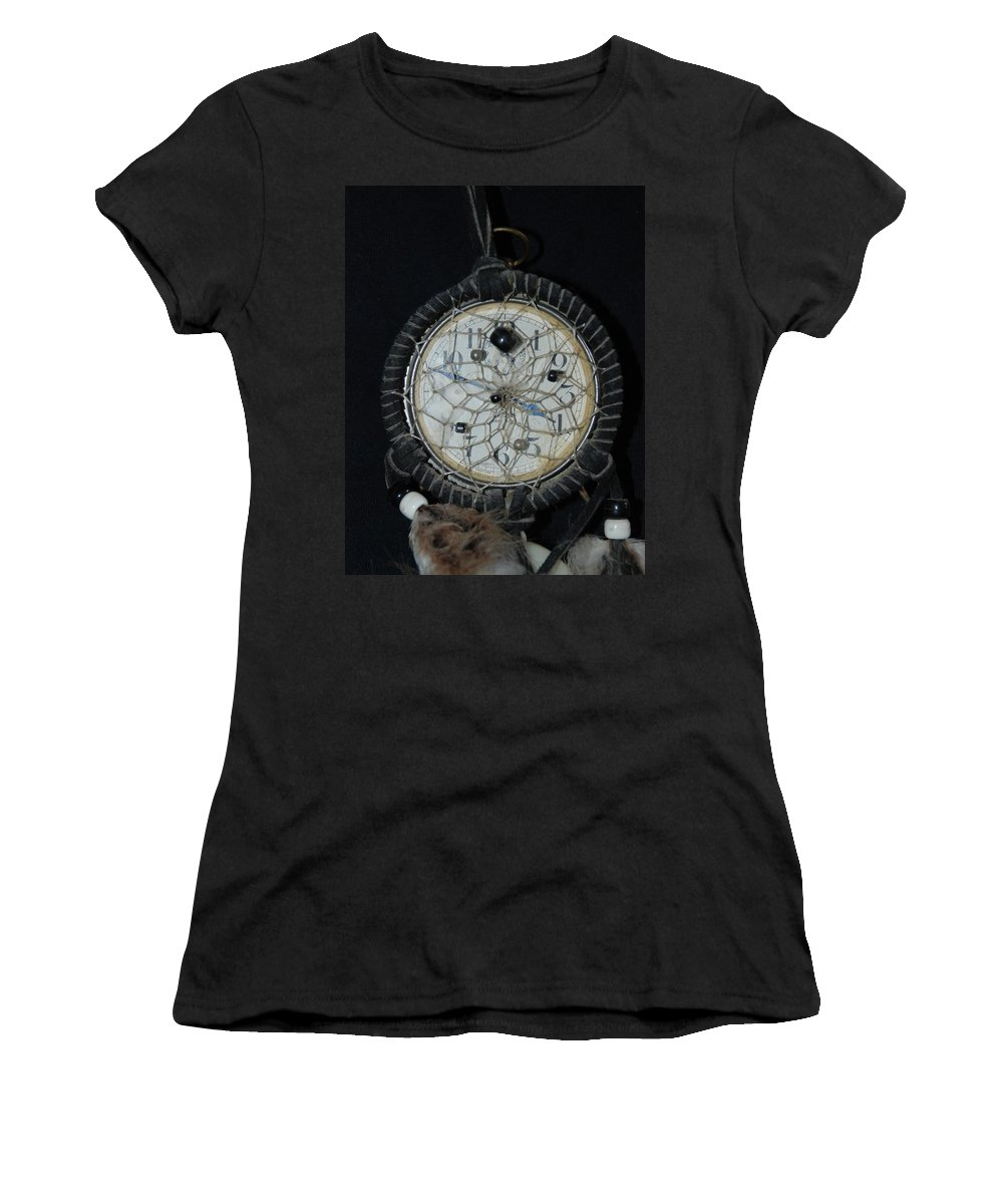 Dream Catcher Women's T-Shirt featuring the photograph Dream Catcher Time by Rob Hans