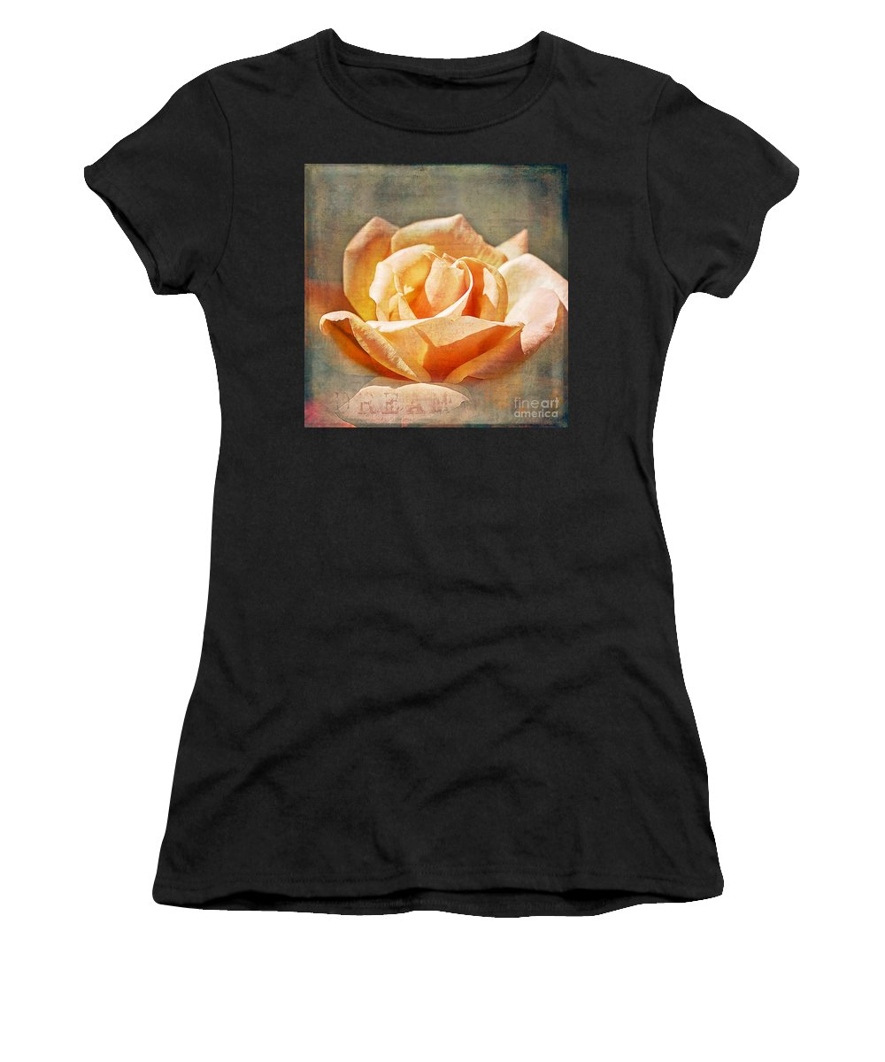 Rose Women's T-Shirt featuring the photograph Dream by Linda Lees