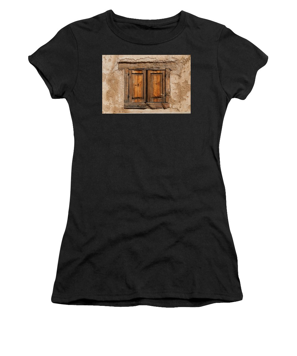Southwest Women's T-Shirt (Athletic Fit) featuring the photograph Earthen by Jim Benest