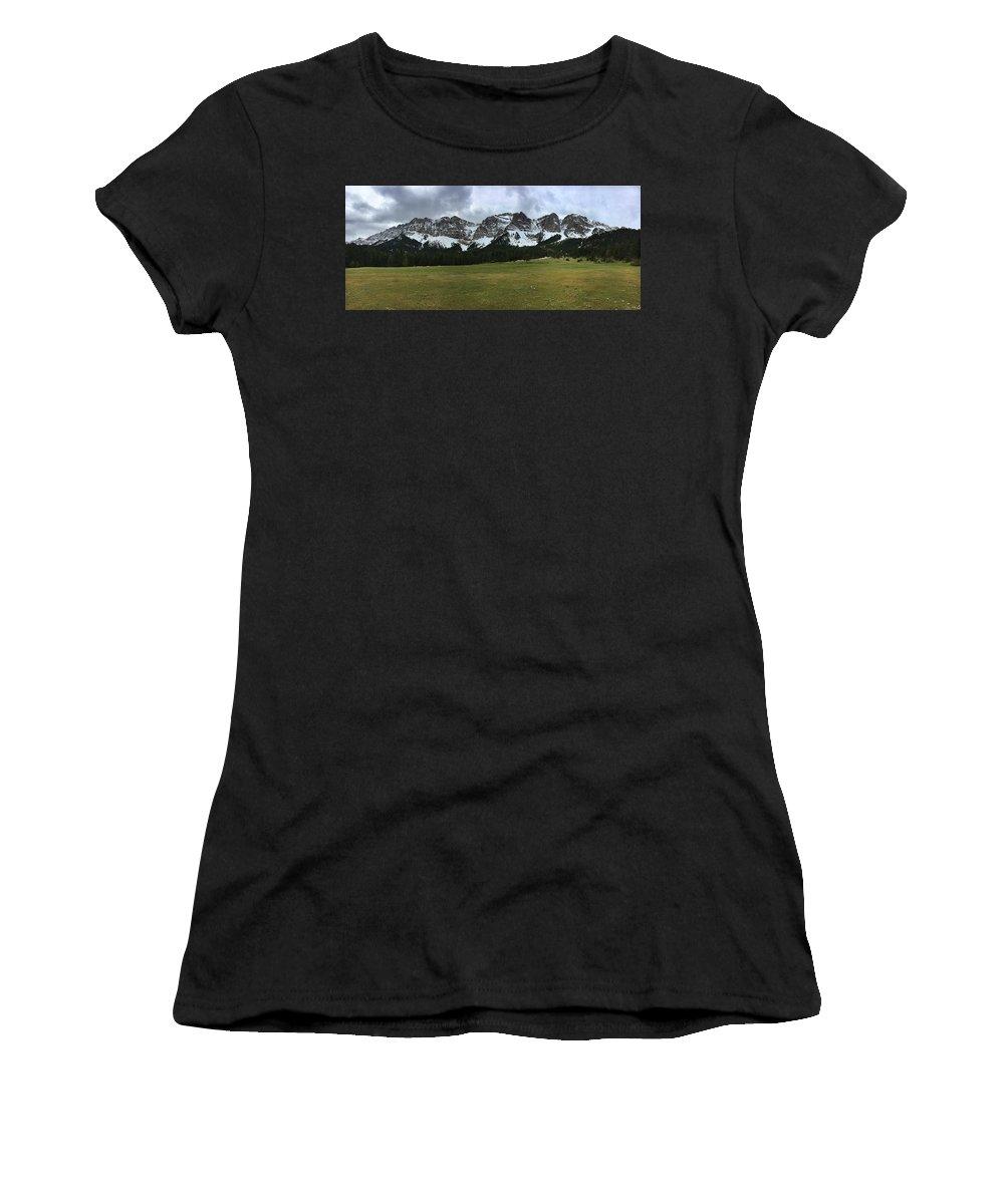 Cadi Women's T-Shirt (Athletic Fit) featuring the photograph El Cadi by Ferran Serra